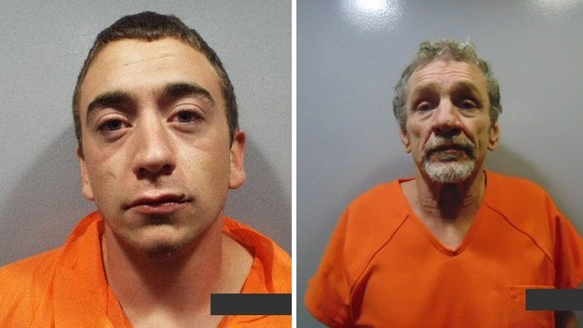 Zachary Shock, 24, and Johnny Tipton, 61, escaped from White County Jail on Saturday, June 16, 2018.