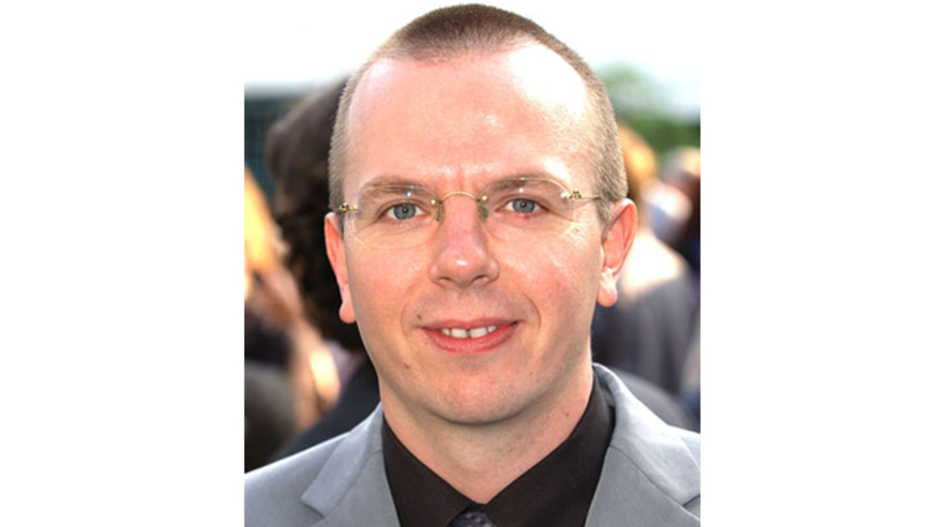 This picture shows Colin Needham, 46, the founder of the Internet Movie Database.