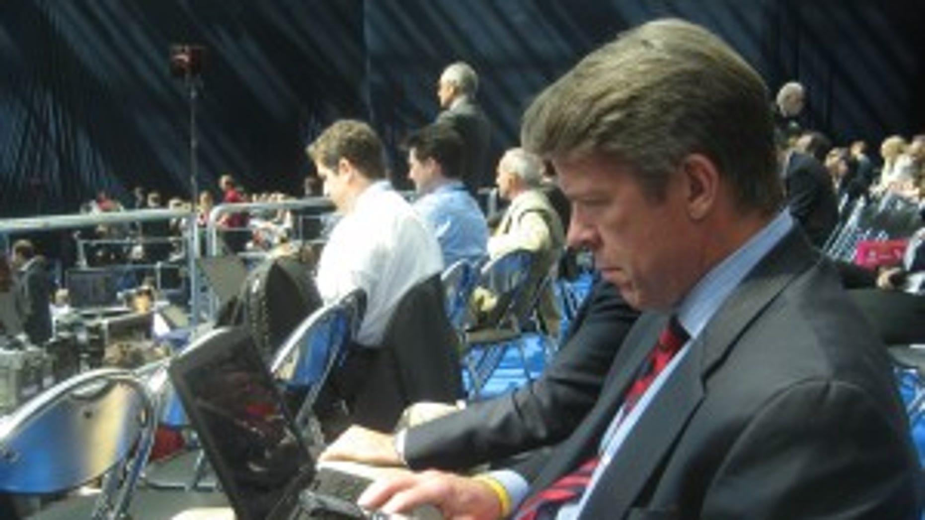 Major Garrett at New Economic School speech in Moscow