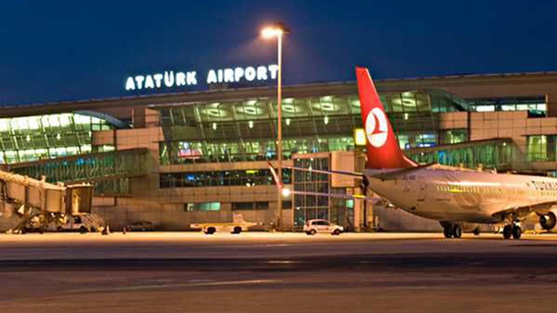 Ataturk Airport is shown.