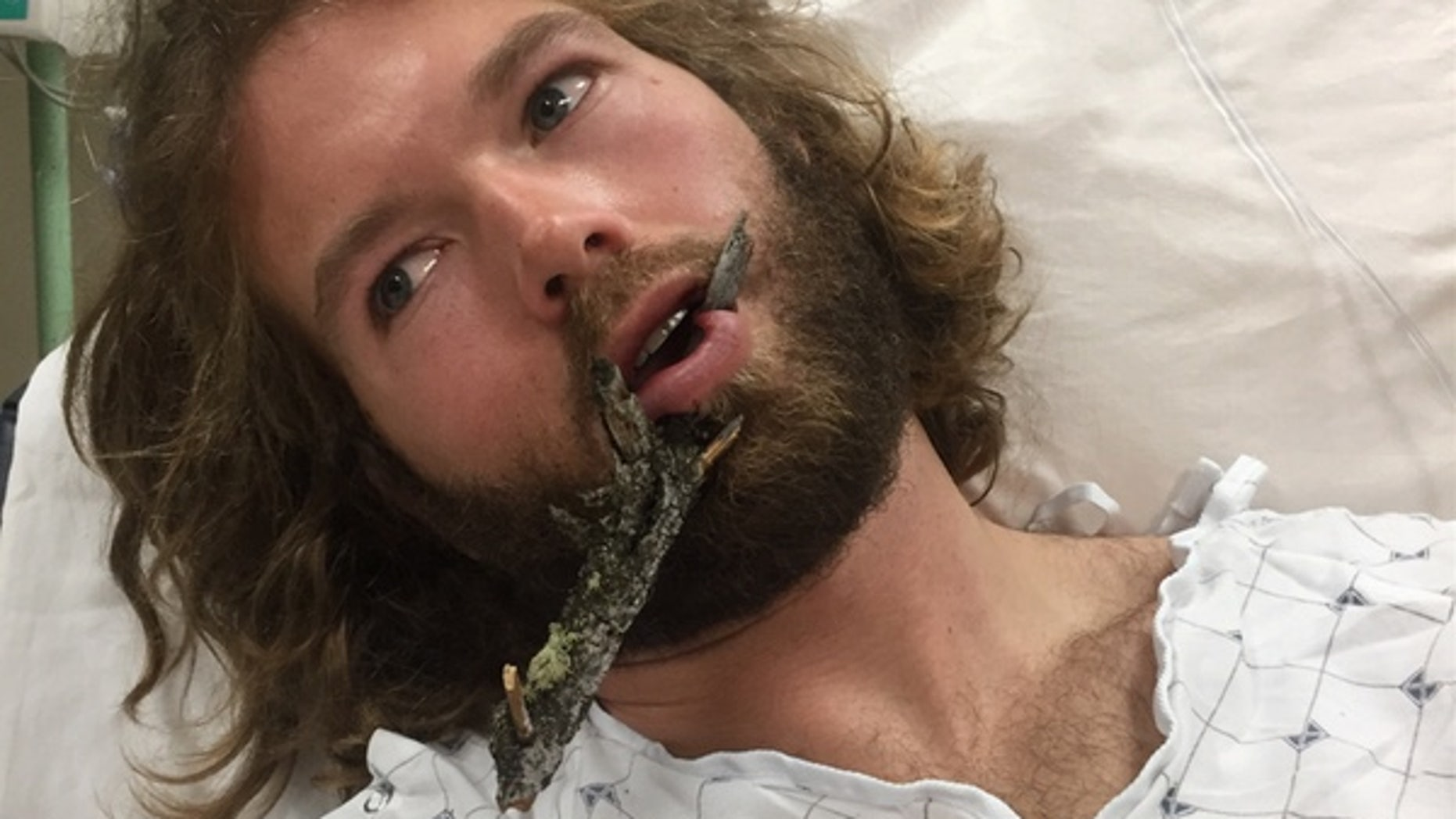 Natty Hagood, 29, was impaled by a tree branch while skiing at the Jackson Hole Mountain Resort.