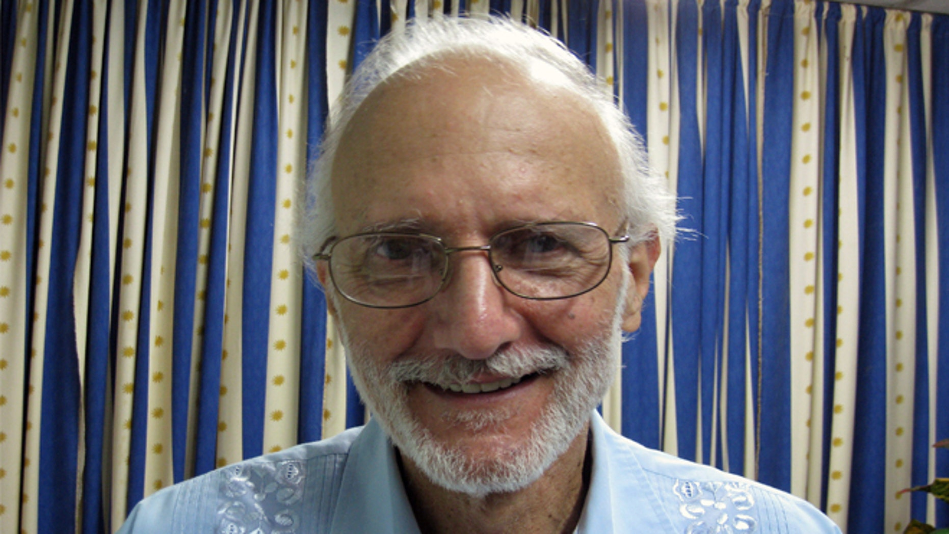 Alan Gross enjoyed his first day of freedom in five years today. (AP)