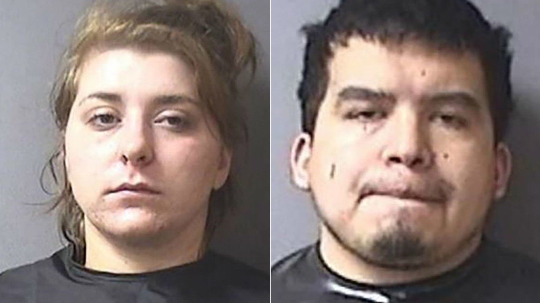 Kayla Hudson, left, and her boyfriend Ryan Ramirez were charged in the murder of Paisley Hudson.