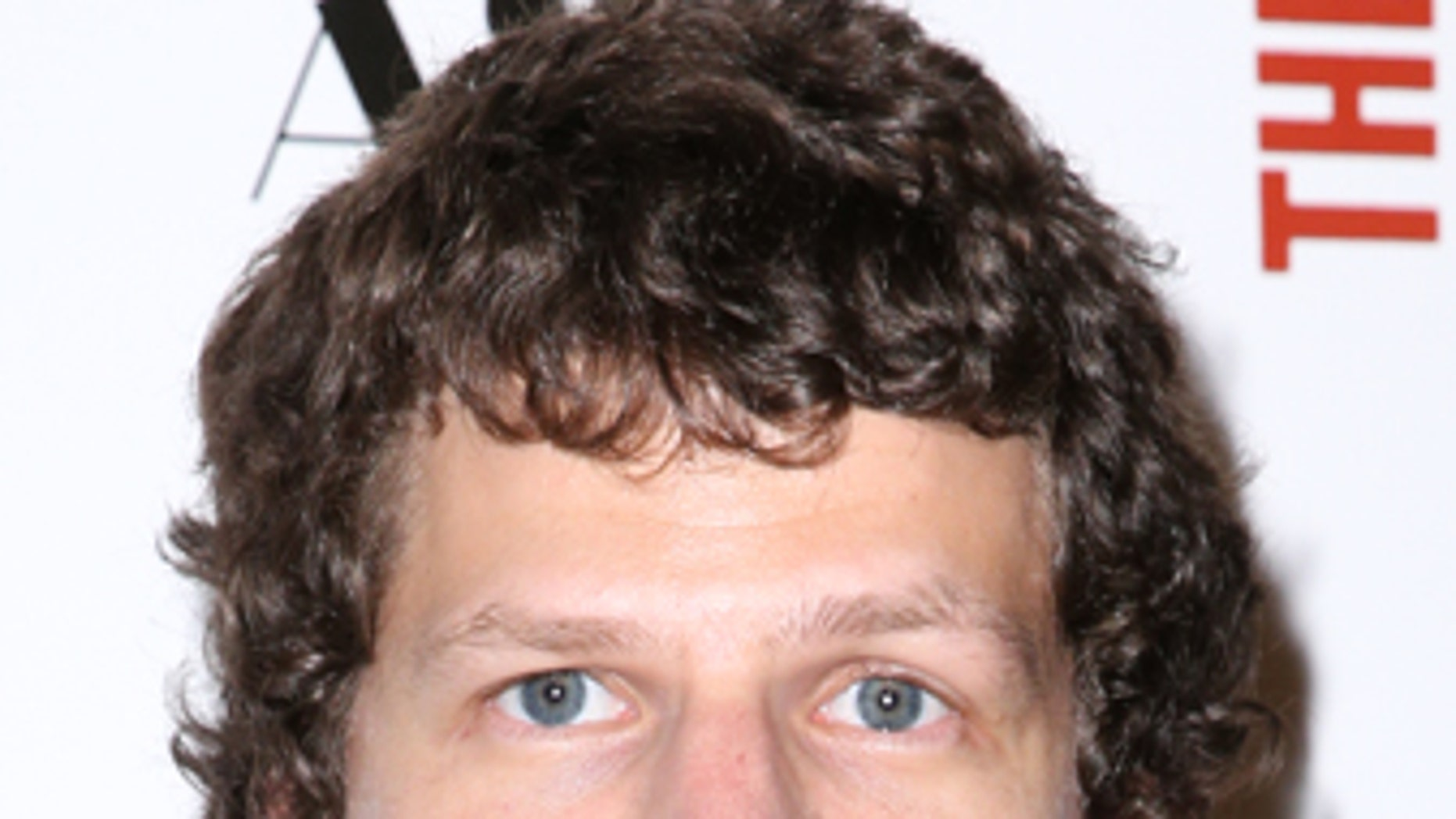 """Jesse Eisenberg arrives at the LA Premiere of """"The End of the Tour"""" at the Writers Guild Theater, on Monday, July 13, 2015, in Beverly Hills, Calif."""