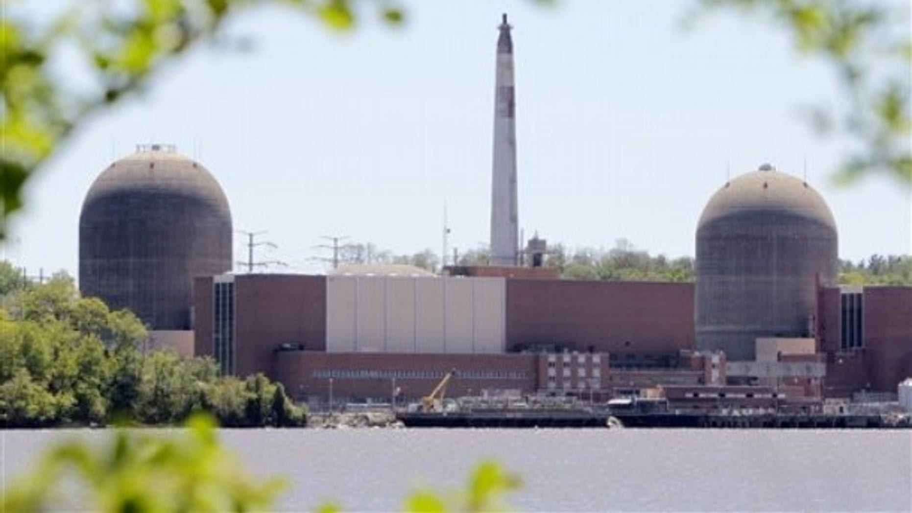 In May 10, 2011 file photo, the nuclear power plant at Indian Point in Buchanan, N.Y., is seen with the Hudson River in the foreground.