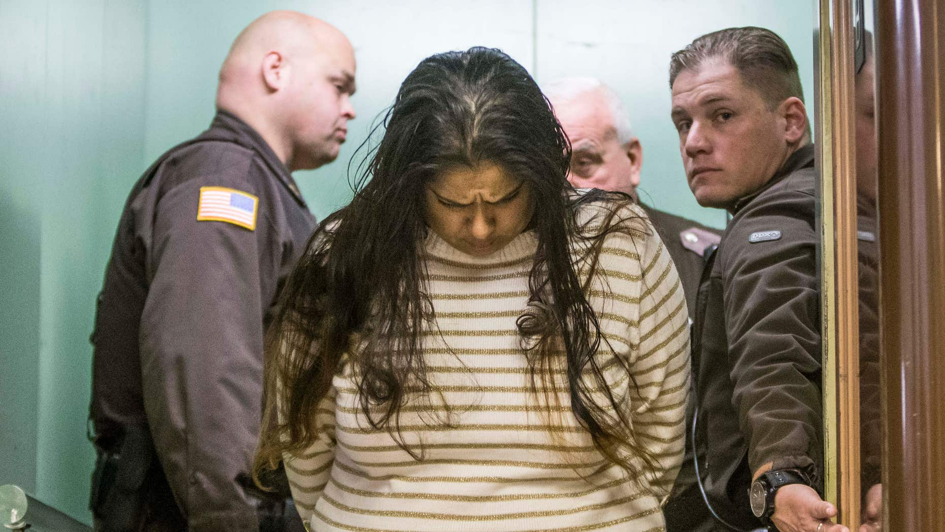 March 30, 2015: Purvi Patel is taken into custody after being sentenced to 20 years in prison for feticide and neglect of a dependent.