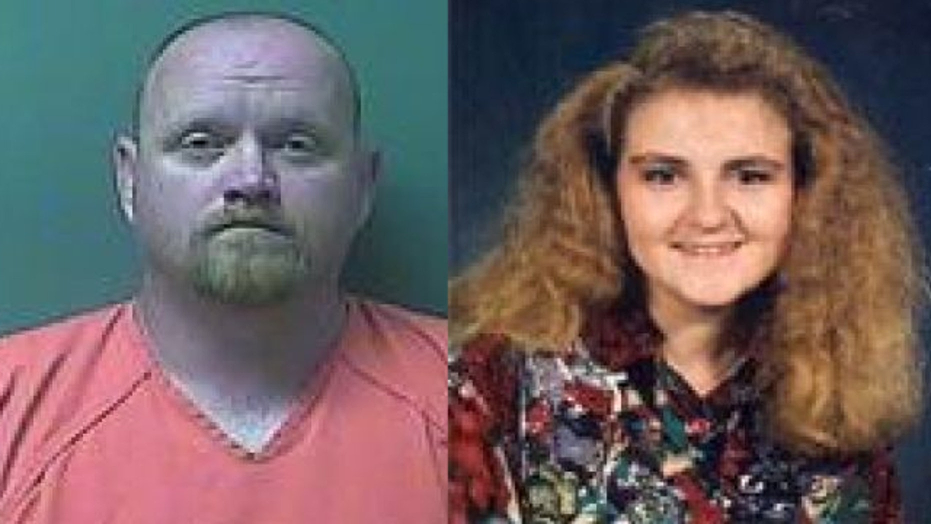 UNDATED: This photo provided by the Indiana State Police shows Jason Tibbs, 38, of LaPorte. Ind., and Rayna Rison, whose body was found in a shallow pond in 1993.