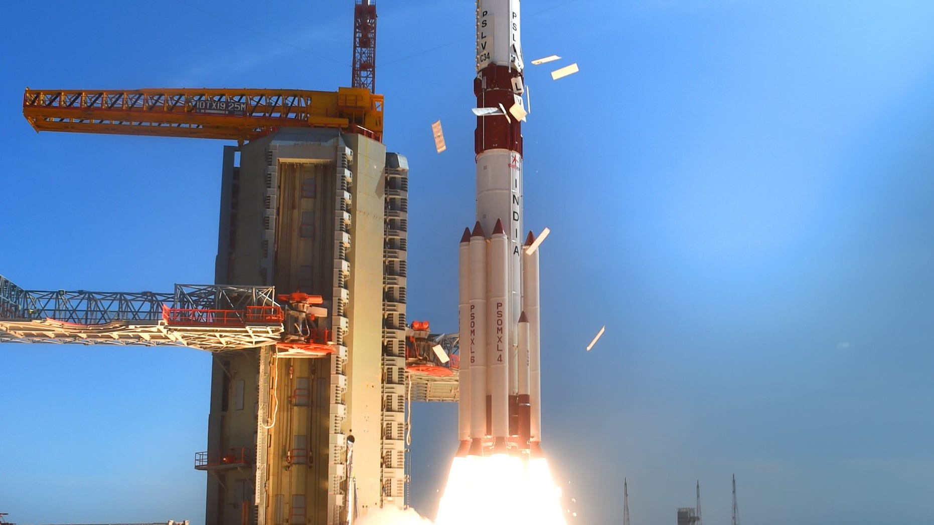 PSLV C-34 launch (ISRO)