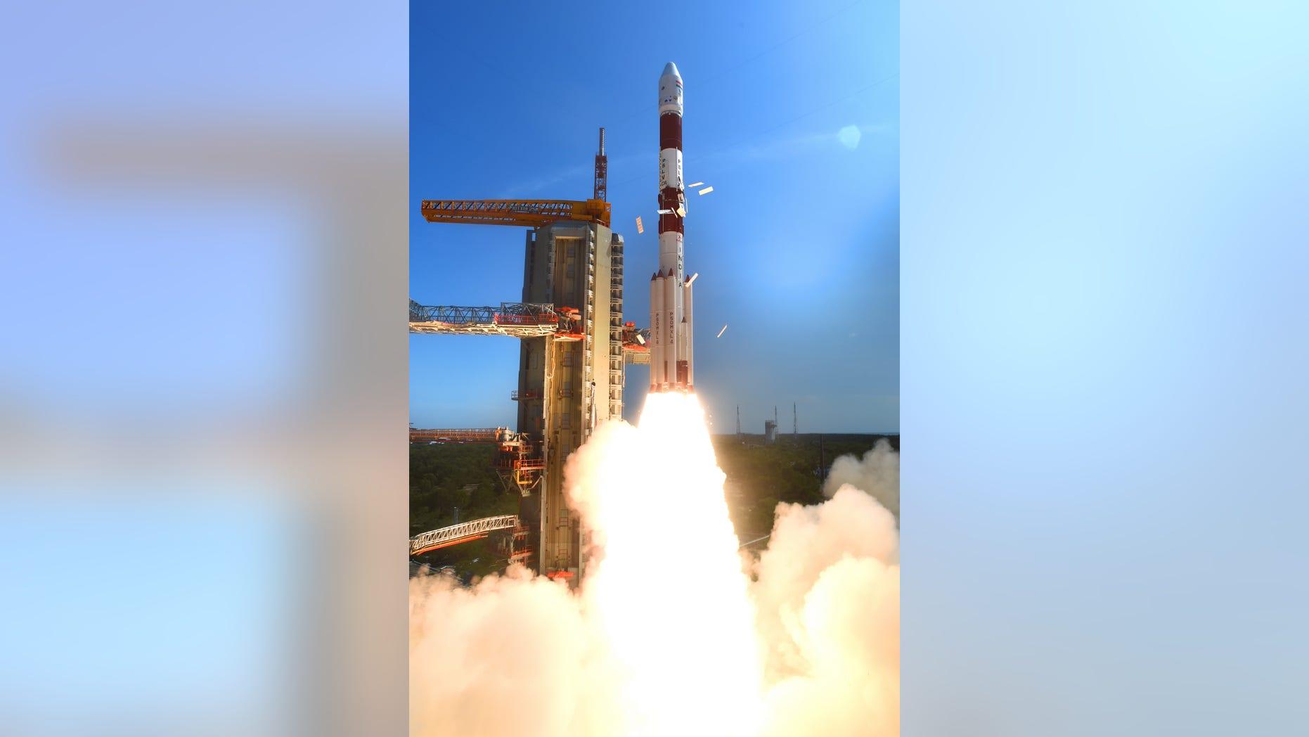 PSLV C-34 launch (ISRO)