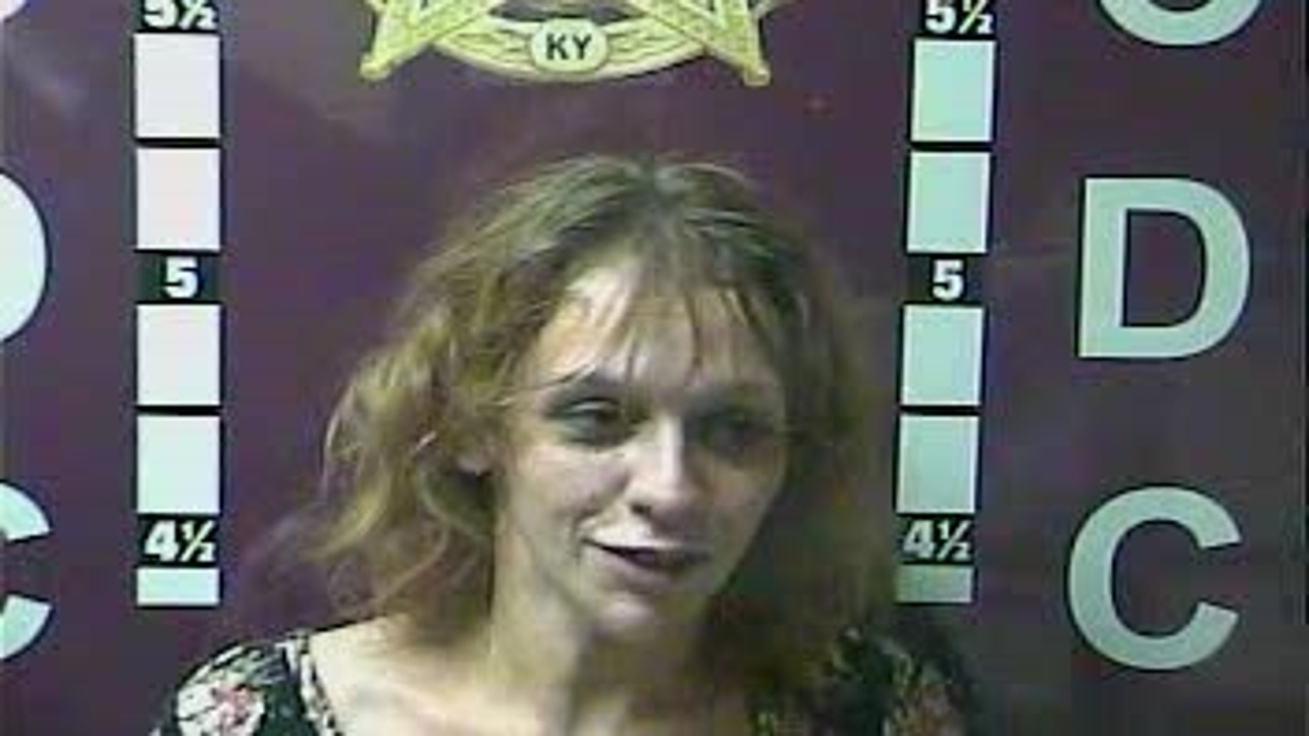 Amanda Peters, 26, allegedly defecated on a sheriff's deputy during her arrest early Saturday.