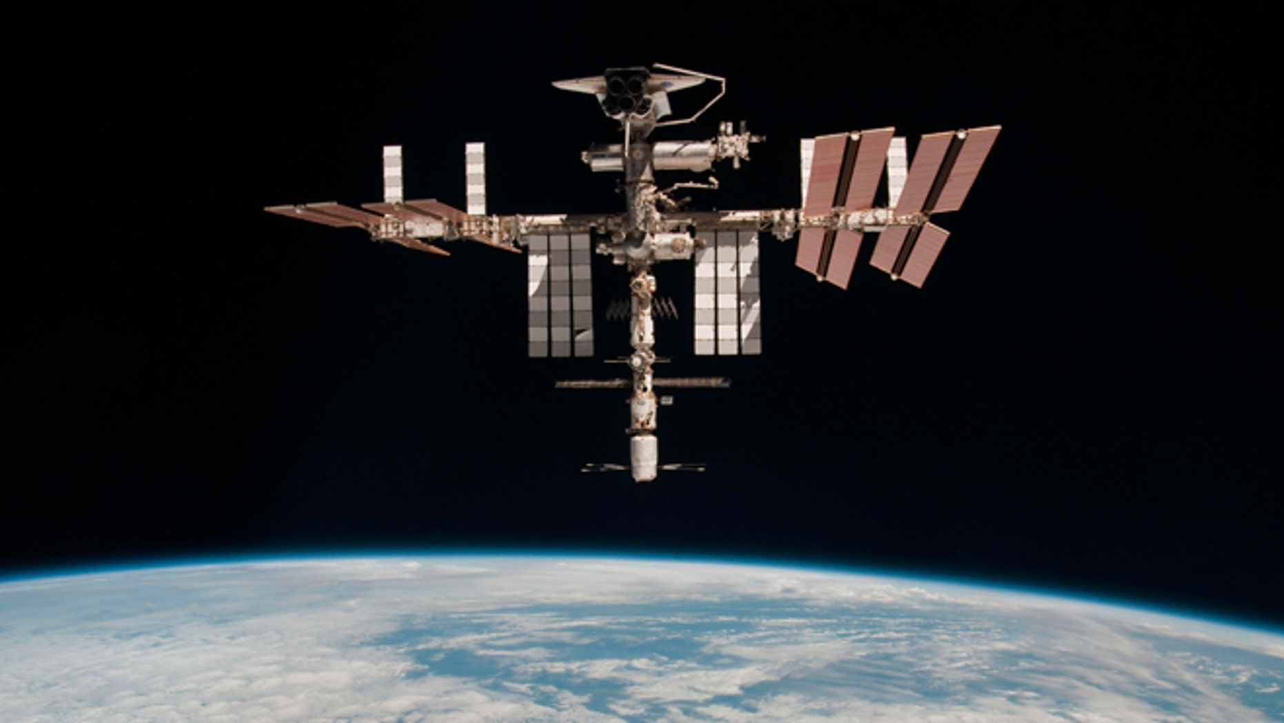 A view of the International Space Station (ISS).