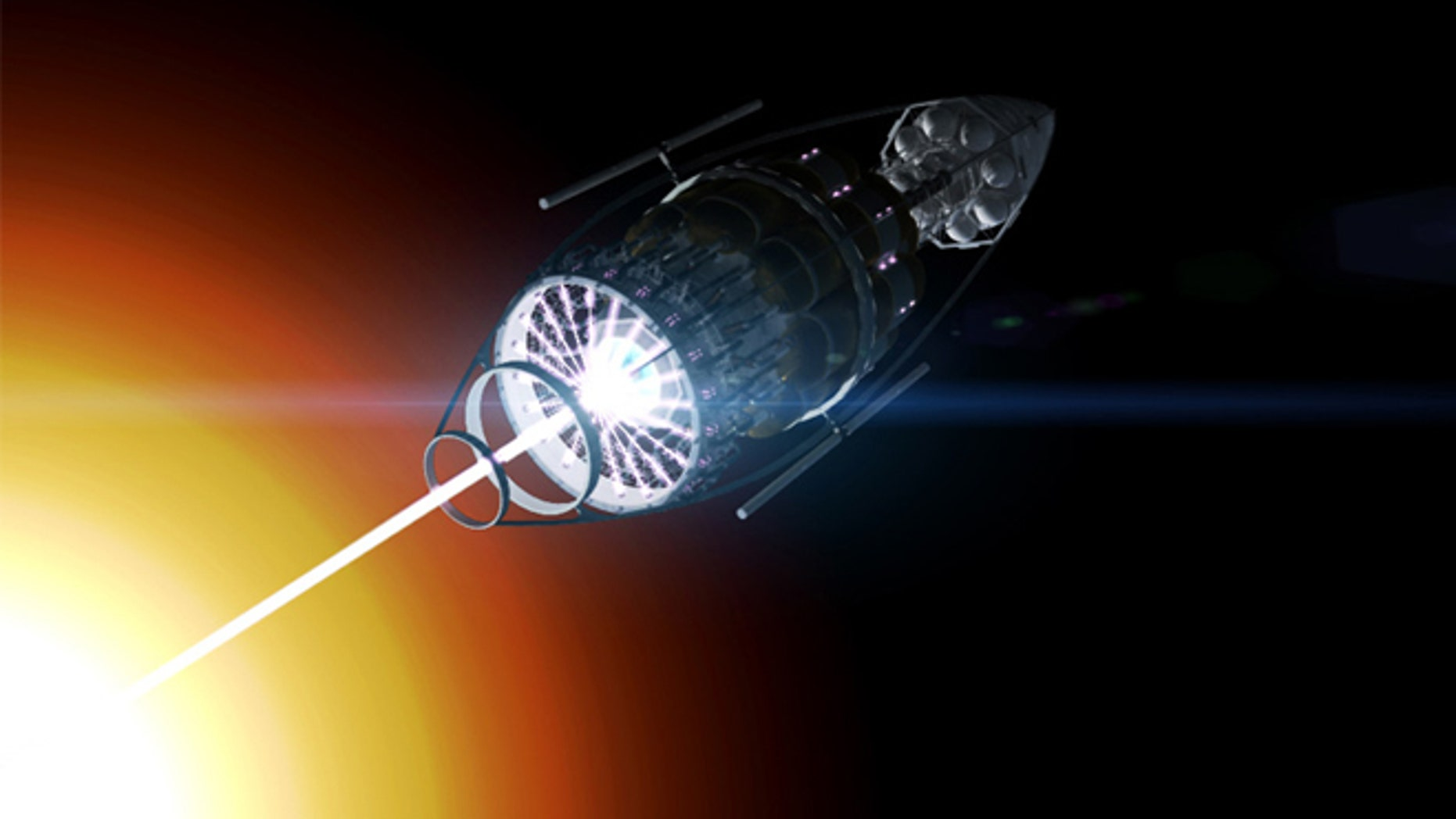 Interstellar Space Travel May Be Possible Using Lasers And