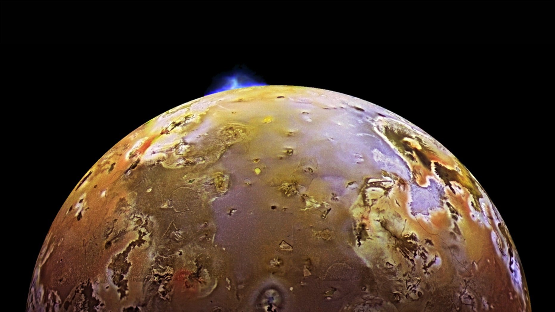 New research suggests that waves of lava sweep across the molten lake Loki Patera on Jupiter's volcanically-active moon Io