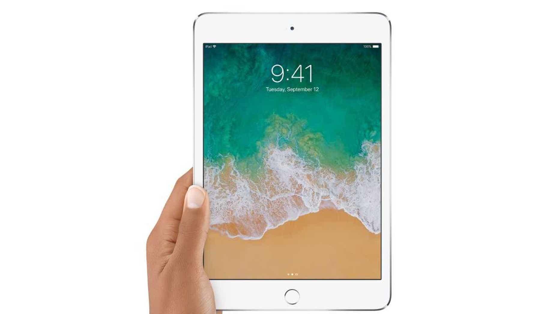 iPad Mini 4. (Credit: Apple)