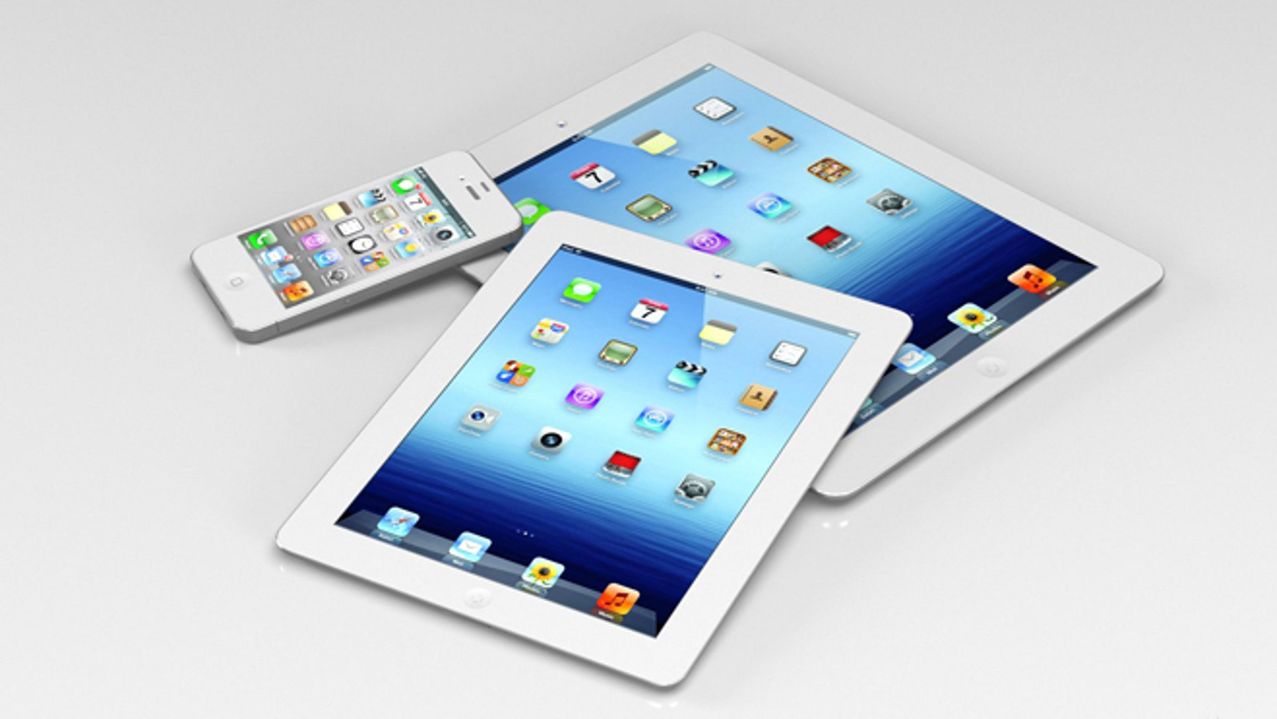 One designer's conception of what an iPad Mini might look like.