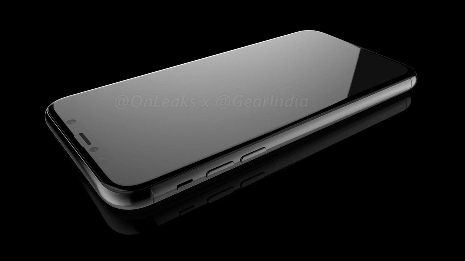 (An artist's rendering of the next iPhone. Credit: Steve Hemmerstoffer, OnLeaks)