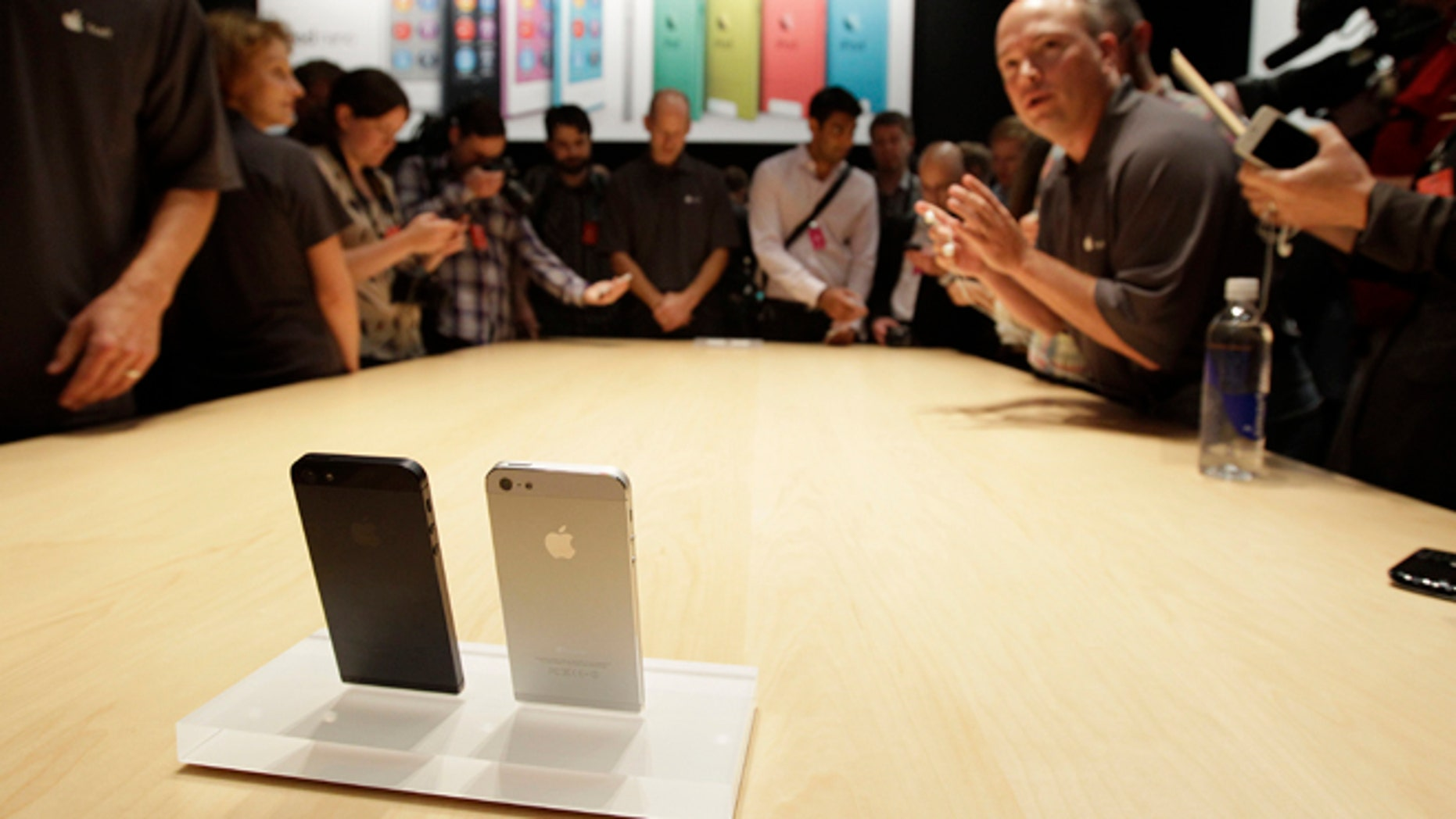 Apple's new iPhone 5 is getting dragged into the patent wars.