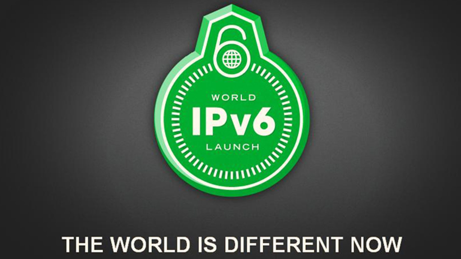June 6, 2012: A screenshot of the homepage for World IPV6 Day, the day that major Internet service providers, home networking equipment manufacturers, and web companies around the world are coming together to permanently switch network gear to a new addressing system.