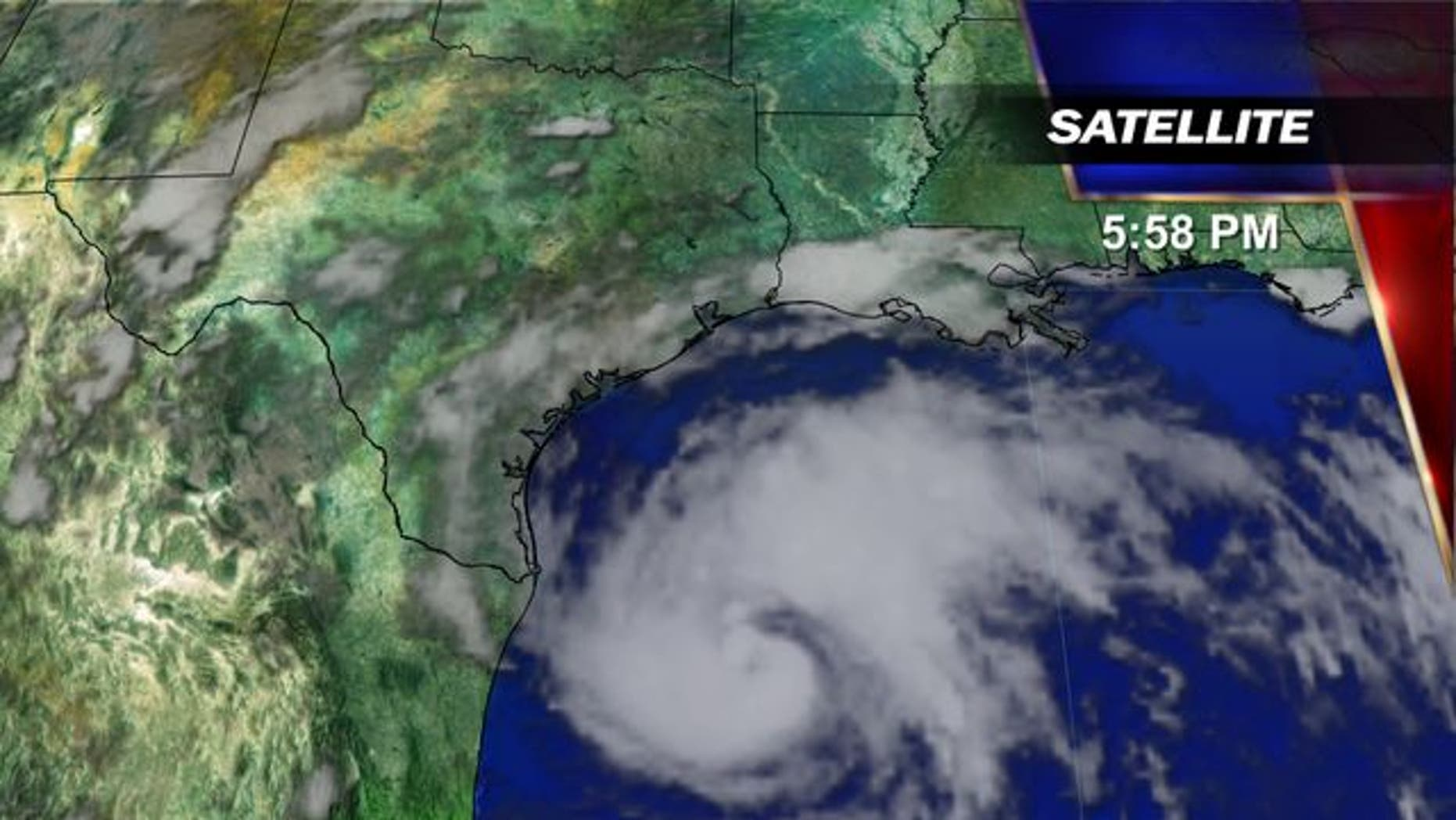Harvey was a tropical storm but intensified Thursday into a hurricane — with the potential for up to 3 feet of rain, 125 mph winds and 12-foot storm surges.