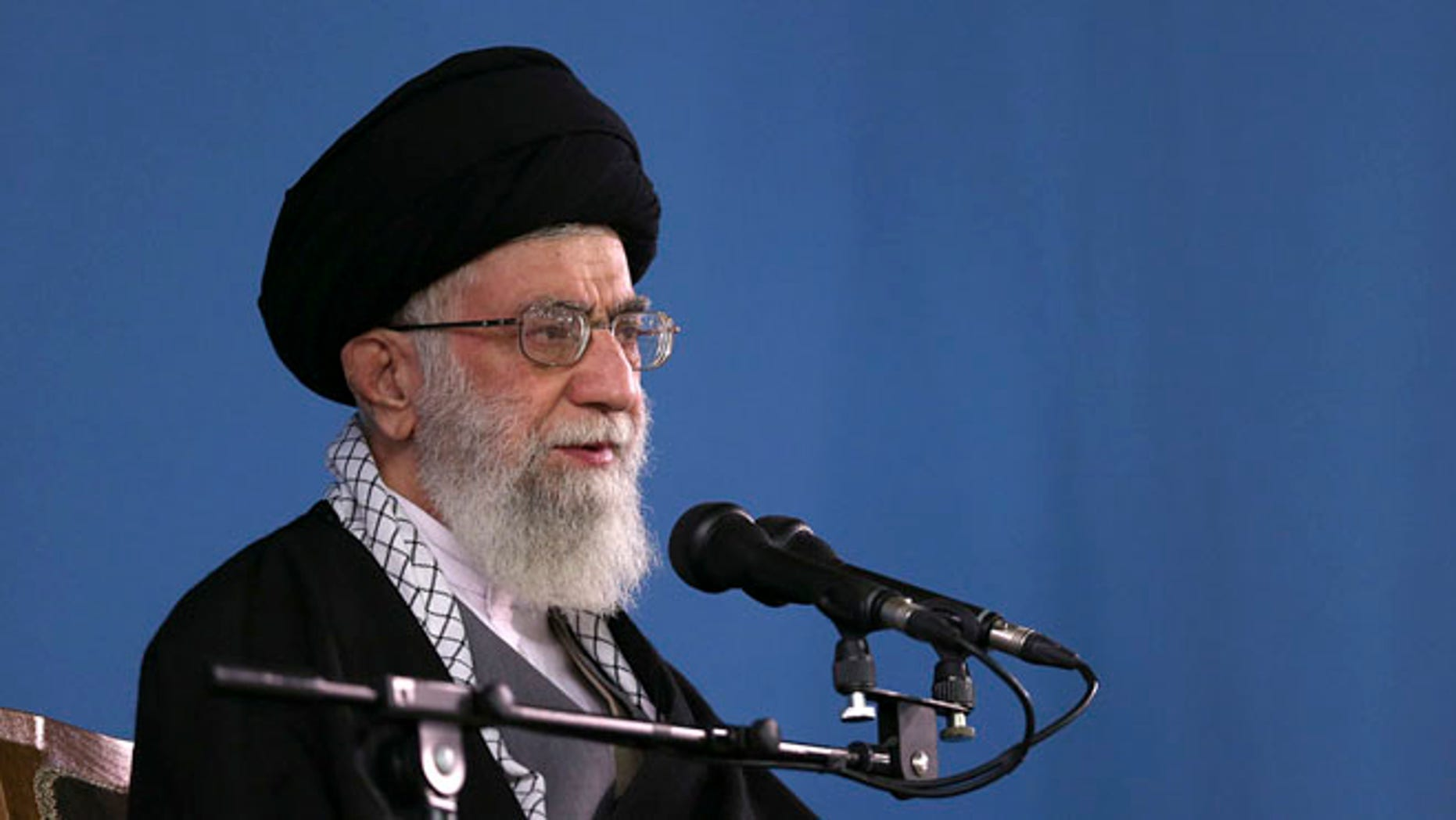 Jan. 7, 2015: Iranian supreme leader, Supreme Leader Ayatollah Ali Khamenei.