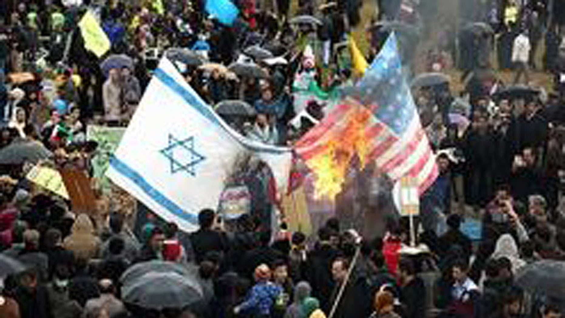 The Feb. 11 event marked Iran's overthrow of the Shah, and featured anti-American and anti-Israel sentiments. (MEMRI)