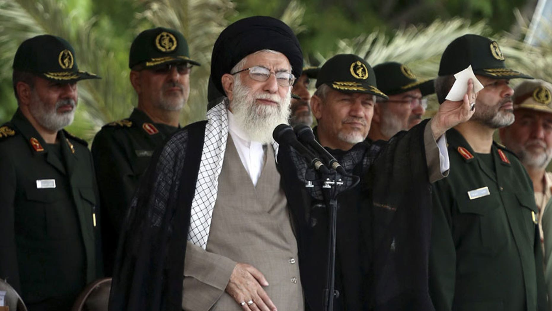 Iranians have little faith Supreme Leader Ali Khamenei will allow a fair vote in the presidential elections. (AP)