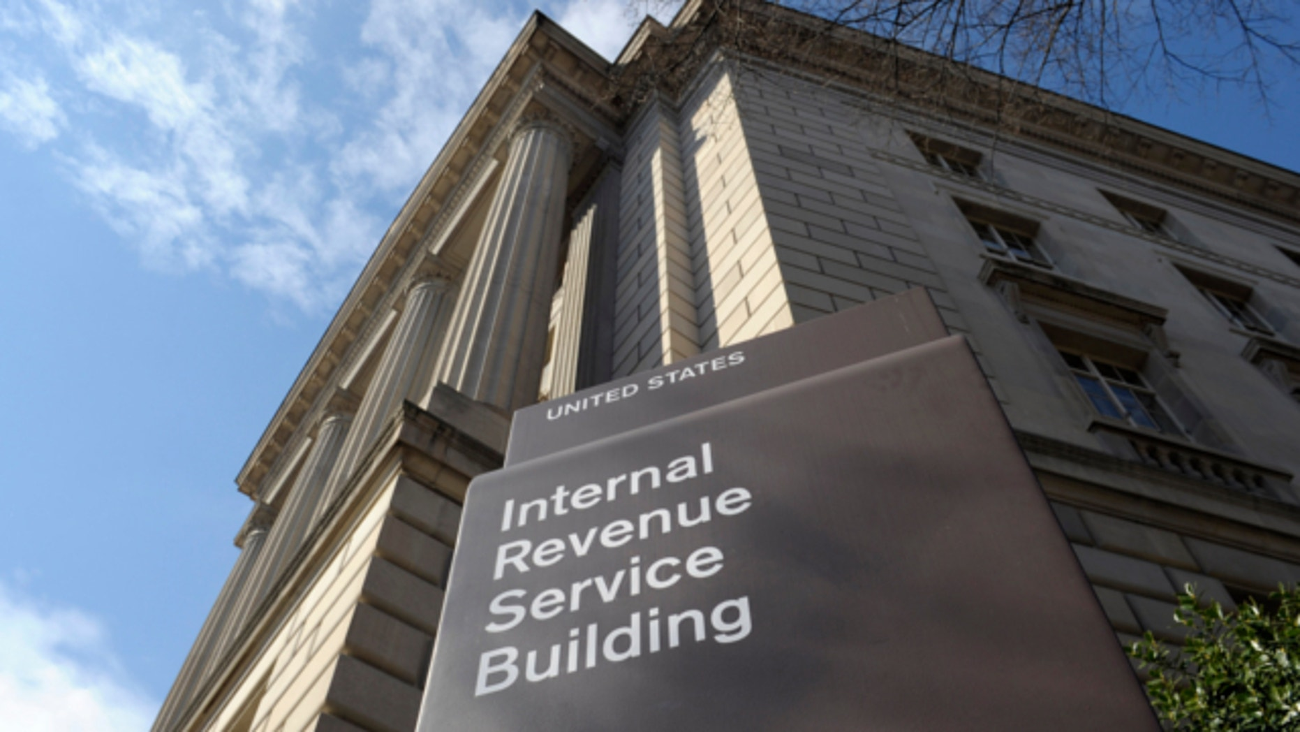 March 22, 2013: This photo shows the exterior of the Internal Revenue Service building in Washington.