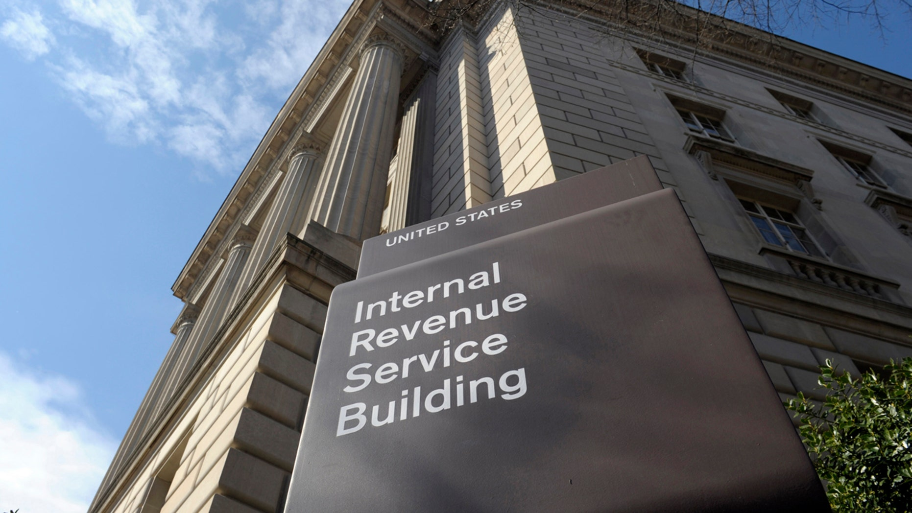 FILE - In this photo March 22, 2013 file photo, the exterior of the Internal Revenue Service (IRS) building in Washington.