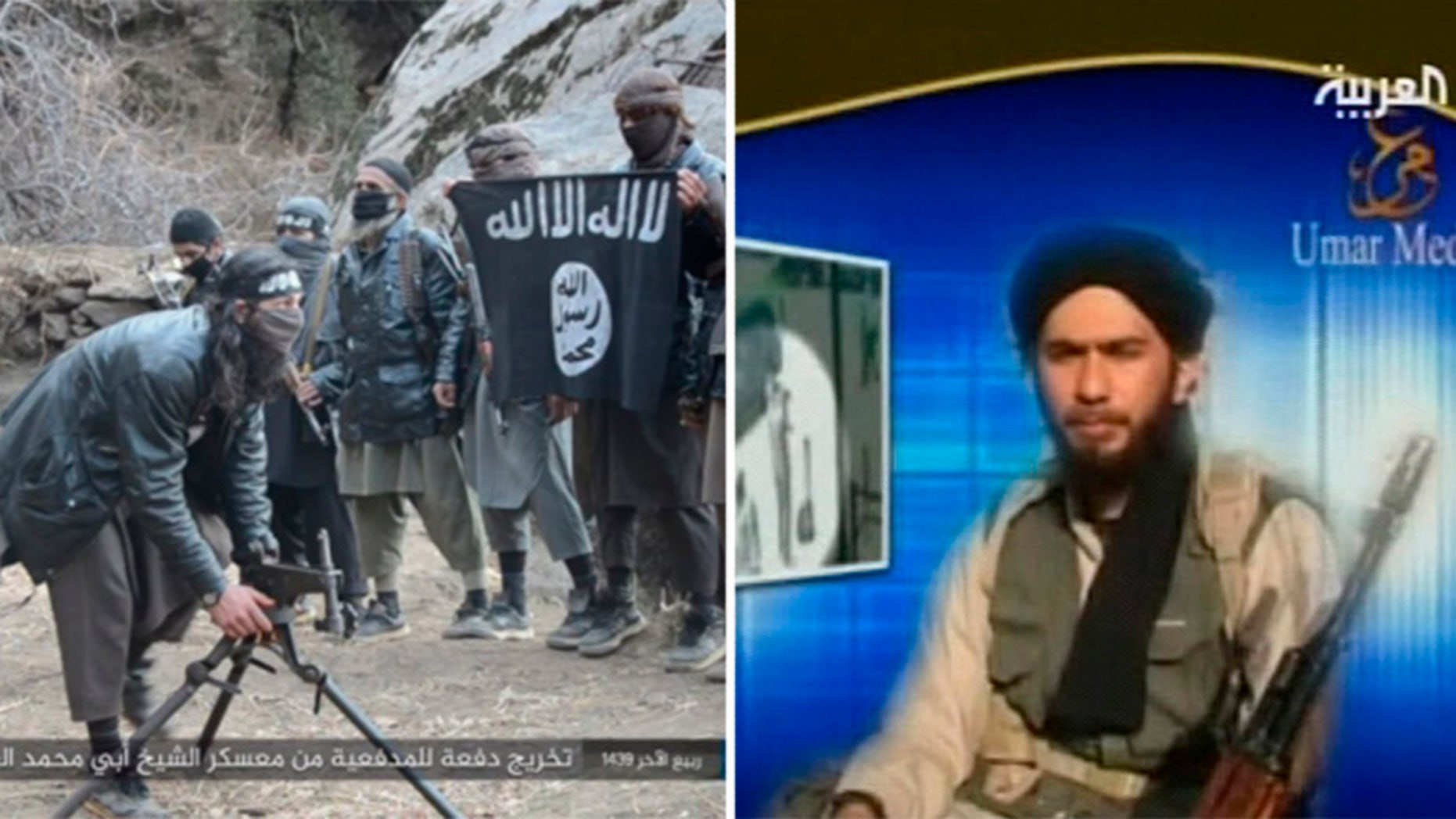 ISIS fighters in Afghanistan