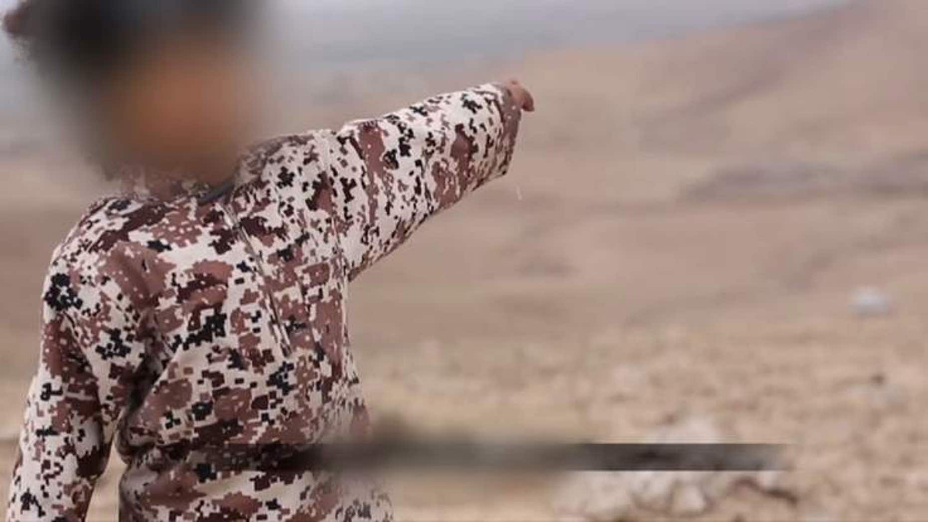 The boy seen in the latest ISIS video was identified as the young son of a London woman who left for Syria.