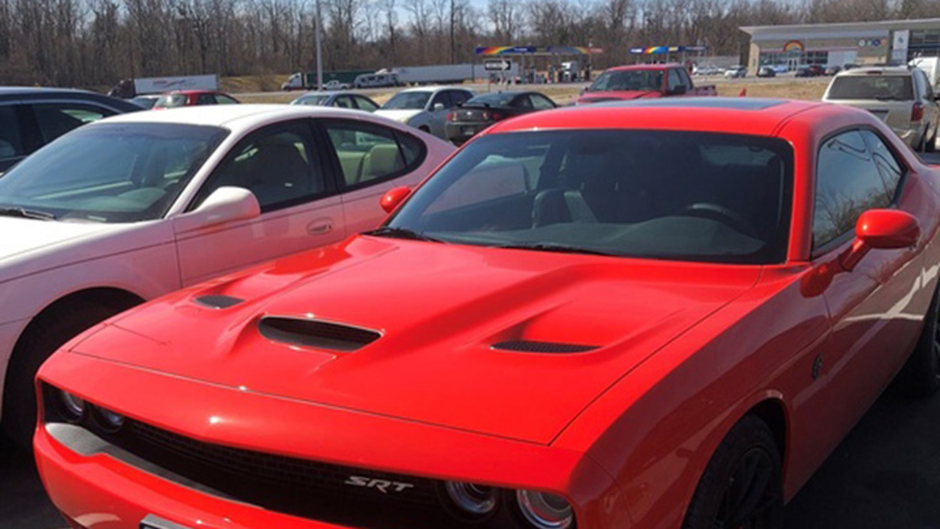 J. Jesus Duran Sandoval told police he was driving over 160 mph in his Dodge Challenger SRT Hellcat.