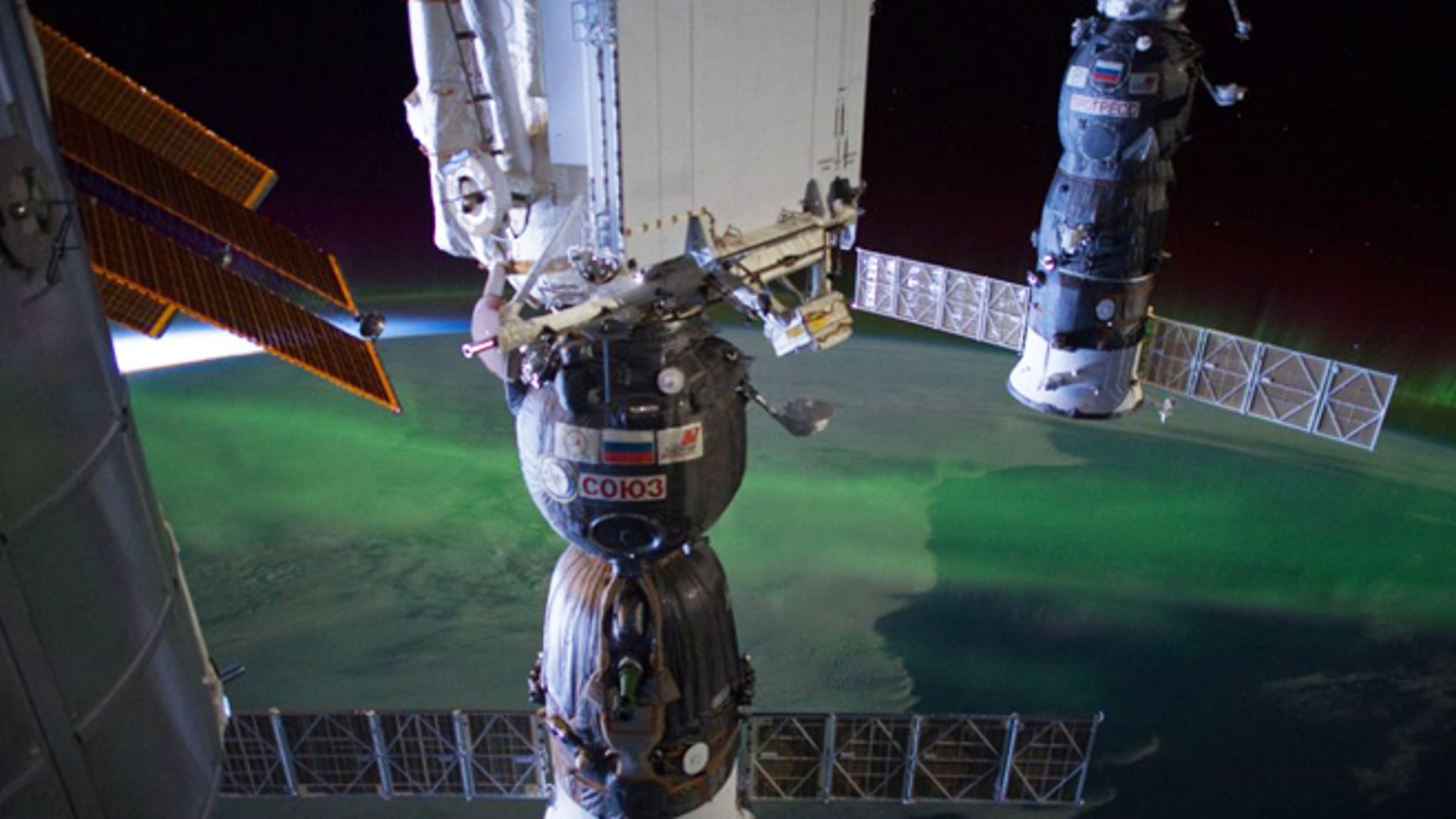 """Astronaut Don Pettit tweeted this photo on March 27, 2012. He wrote: """"1 millionth ISS photo. Part of time lapse series. Not sure who took it, Dan Burbank or myself. We can't remember."""""""