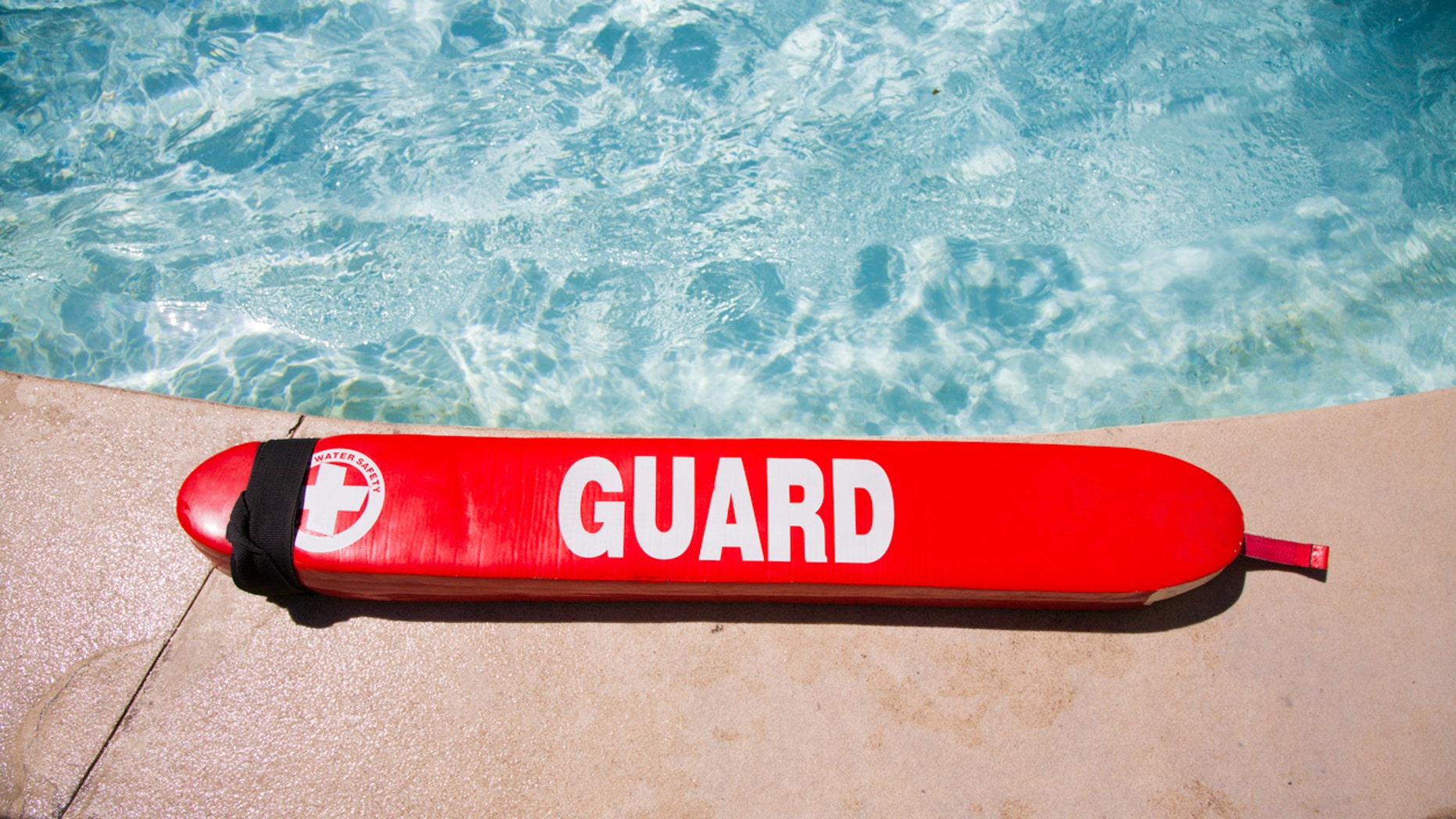 Lane VanHorn is in his second year of lifeguarding.