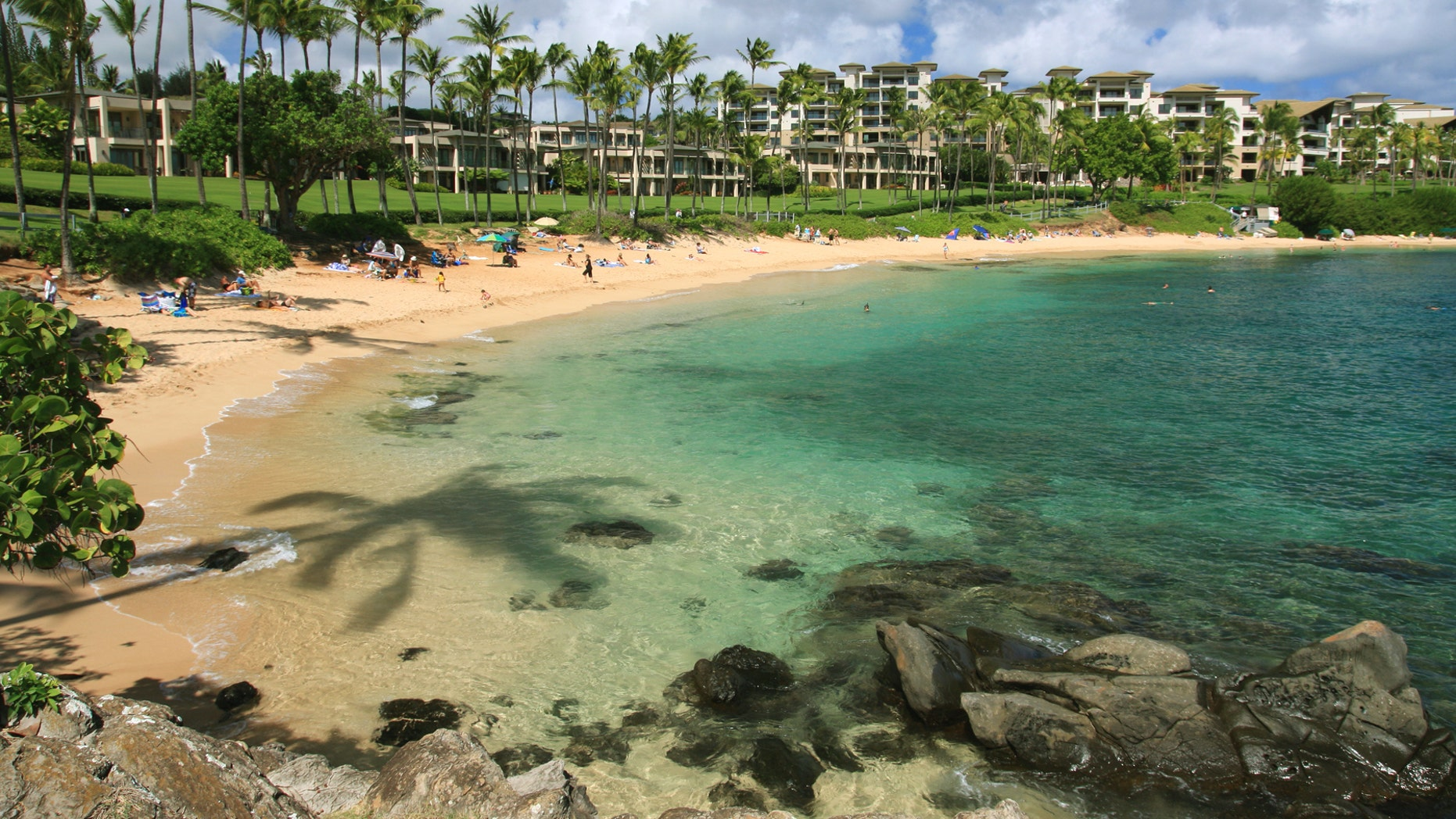 Kapalua Bay Beach leads the list of best beaches in America.