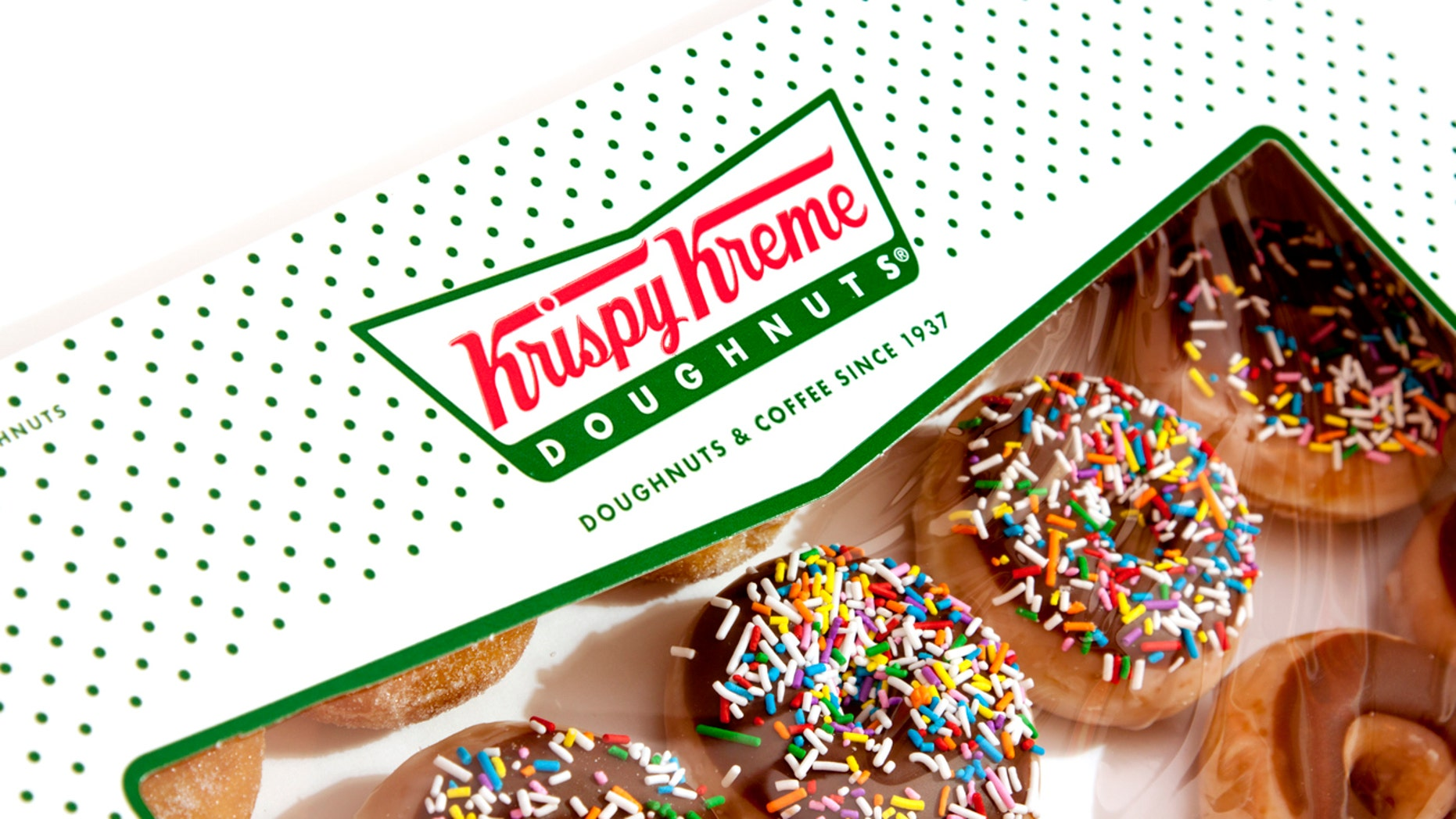Krispy Kreme Doughtnuts is offering a special edition eclipse donut.