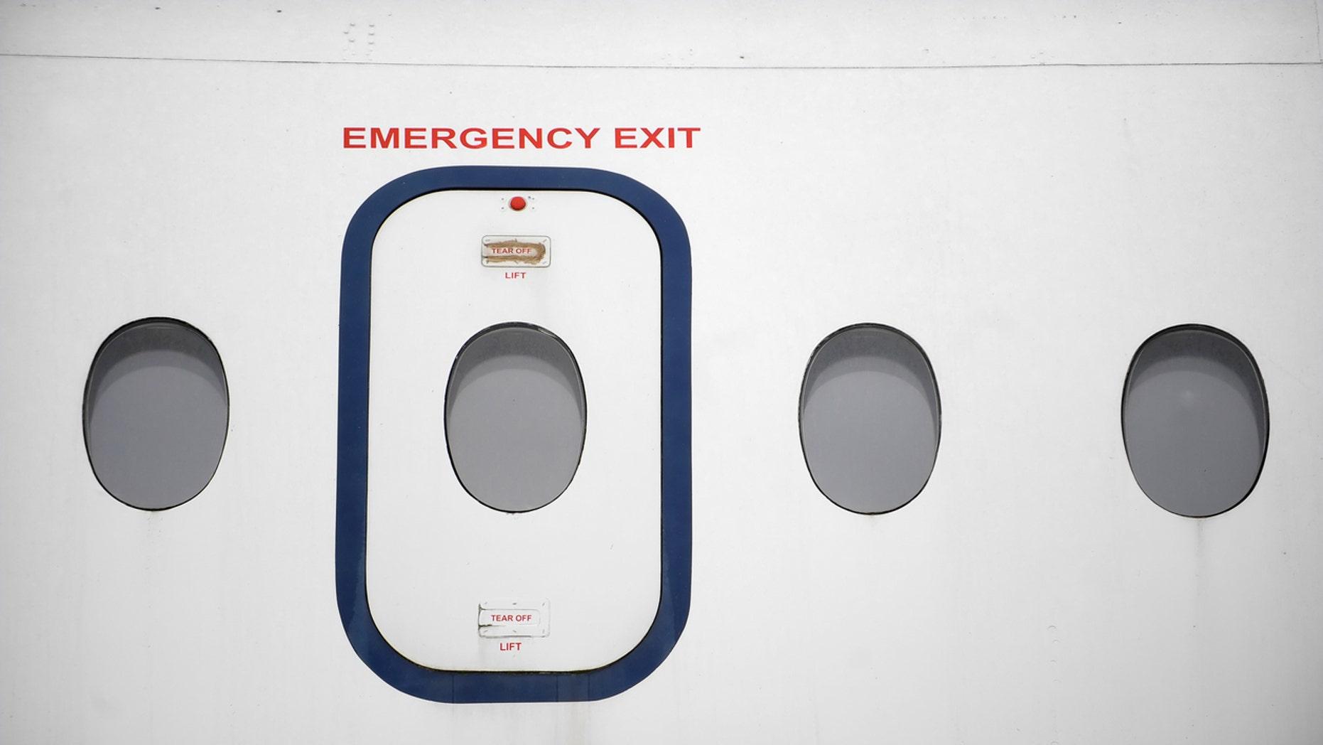 Airline Blames Passengers After Emergency Exit Door Falls Off Plane