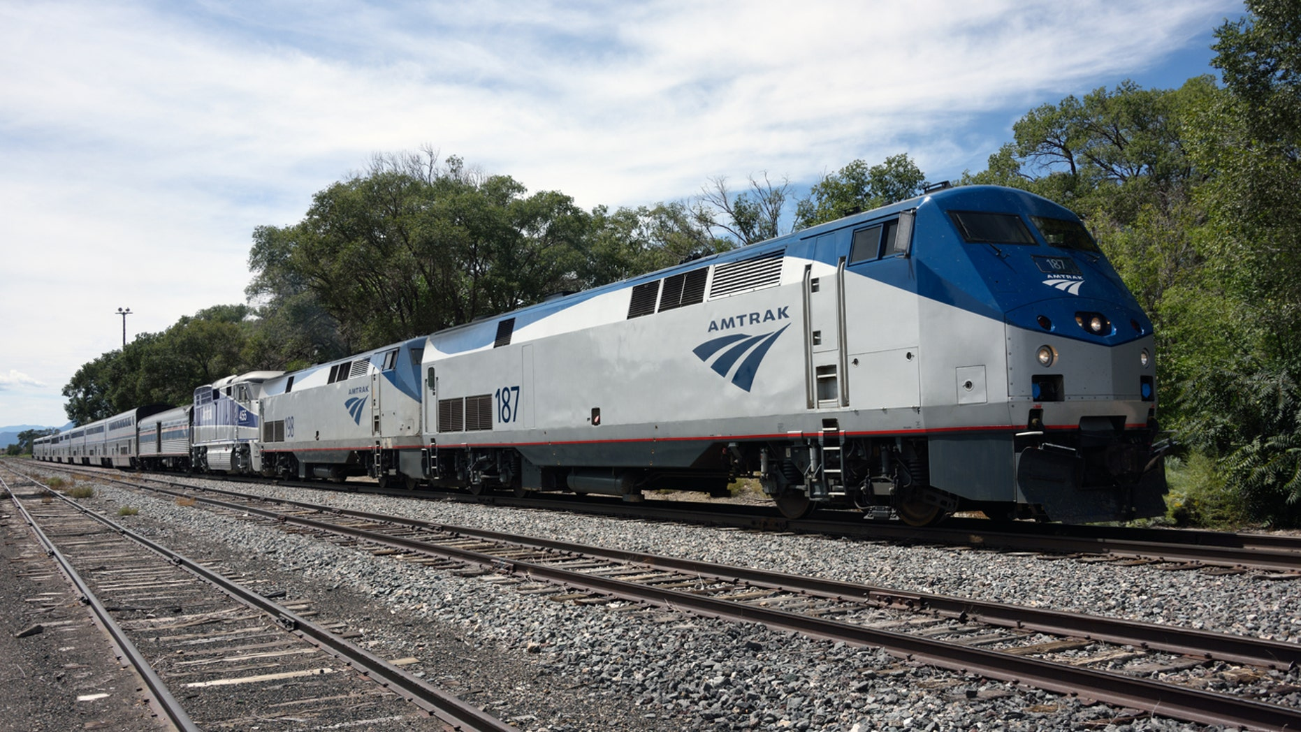 """A Chicago woman was asked to remove her pin as part of Amtrak's """"policy"""" against creating friction with other passengers."""