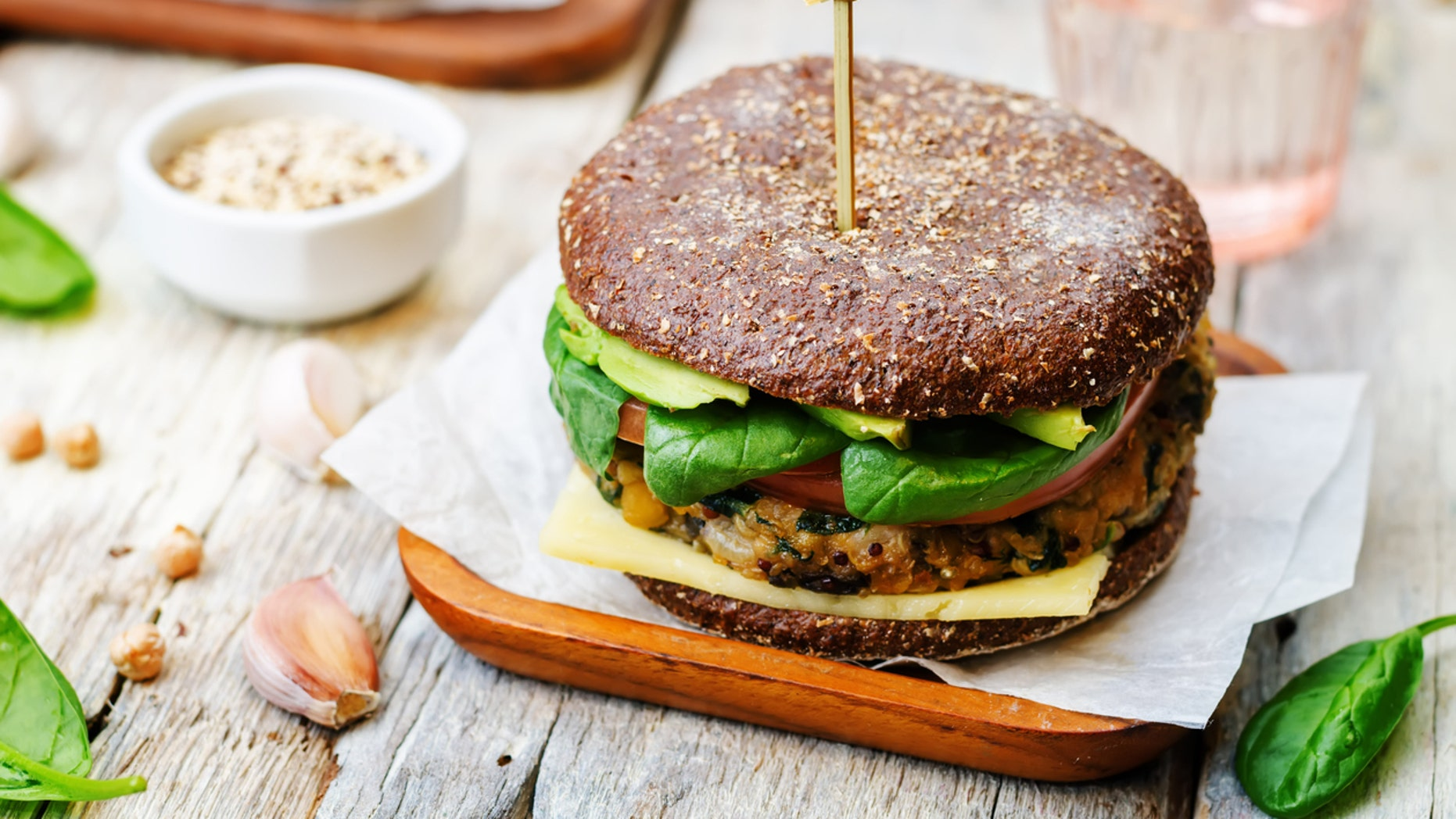 Quinoa burgers replace meat at certain Dallas restaurants