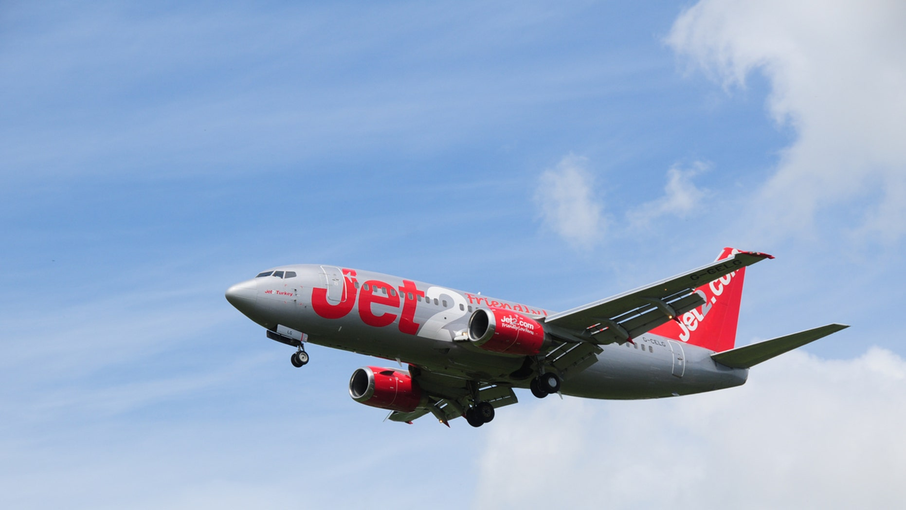 Cops searched the Jet2 plane and found a drawing of a bomb inside a toilet.