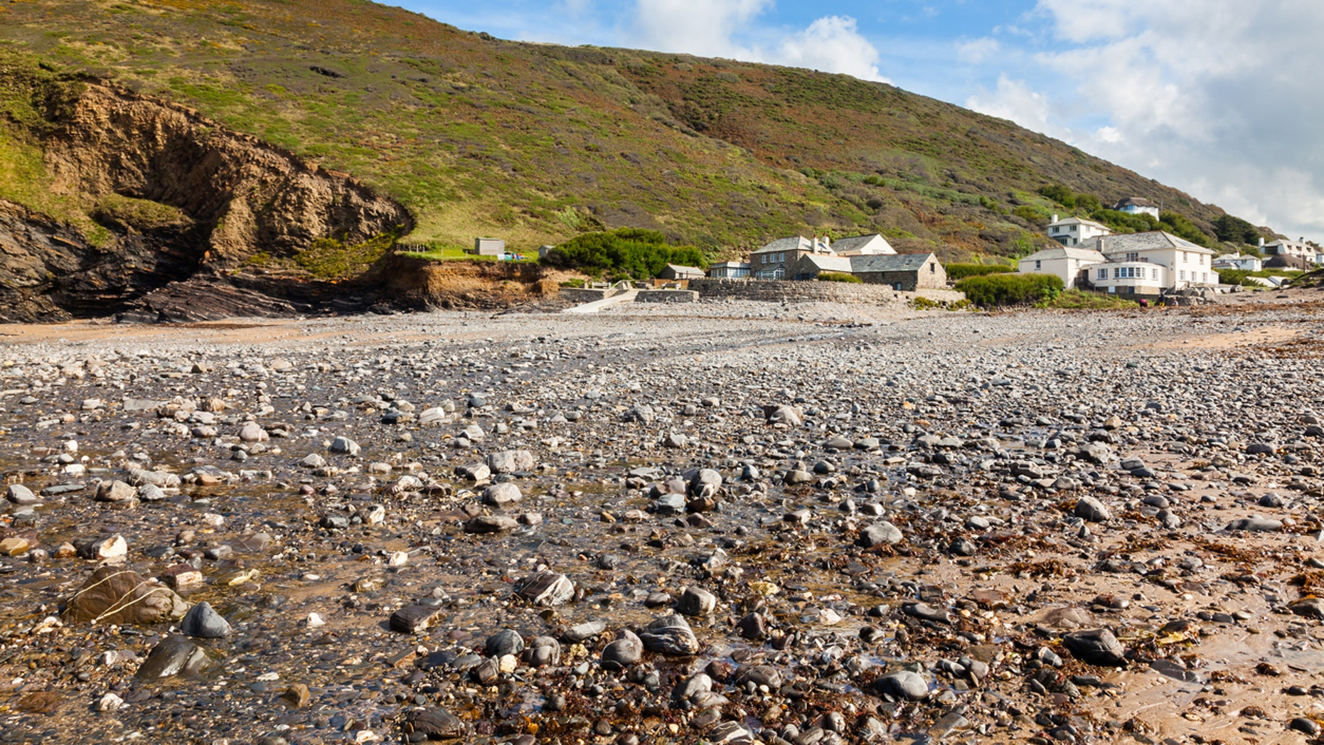 A man has been ordered to drive hundreds of miles back to Crackington Haven, Cornwall, and return the rocks that he stole from the beach.