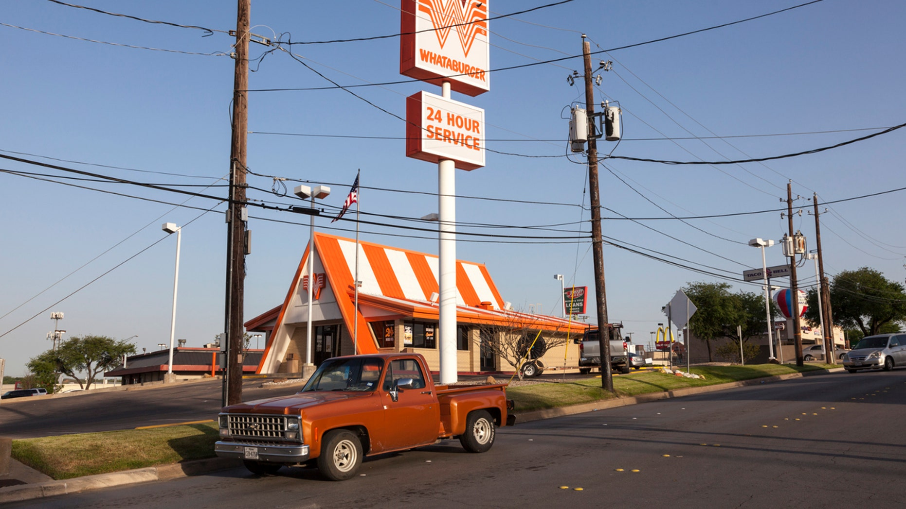 Whataburger operates over 670 locations in Texas.