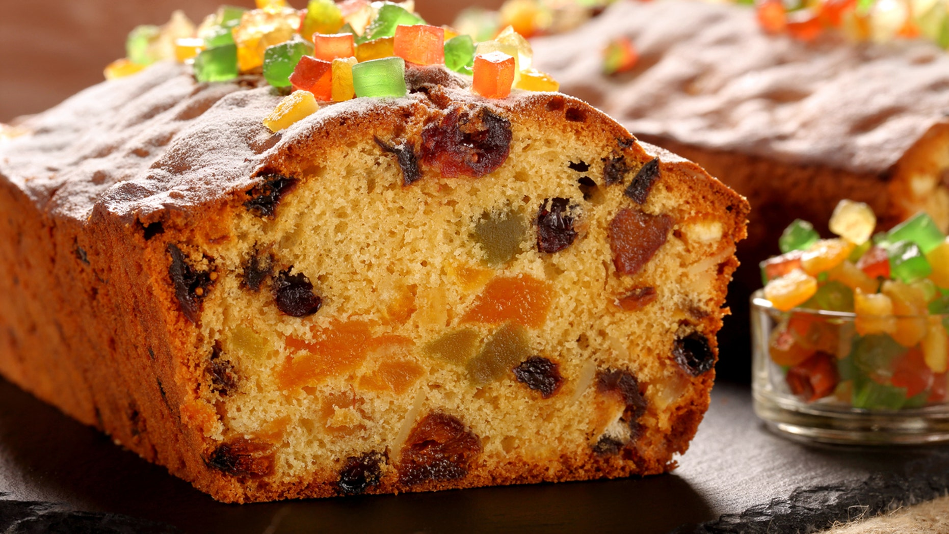 Century old fruitcake discovered, smells like 'rancid butter.'