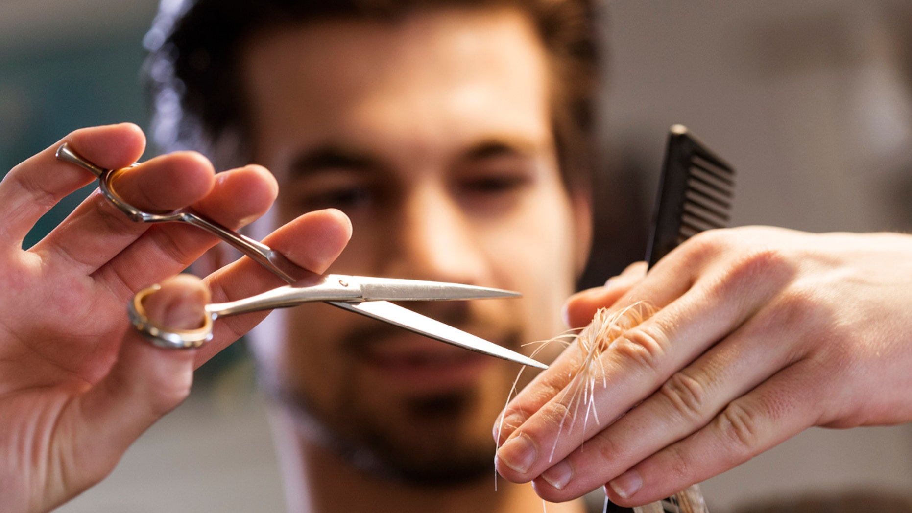 The ribbon-cutting style shears have been getting mostly positive responses on social media.
