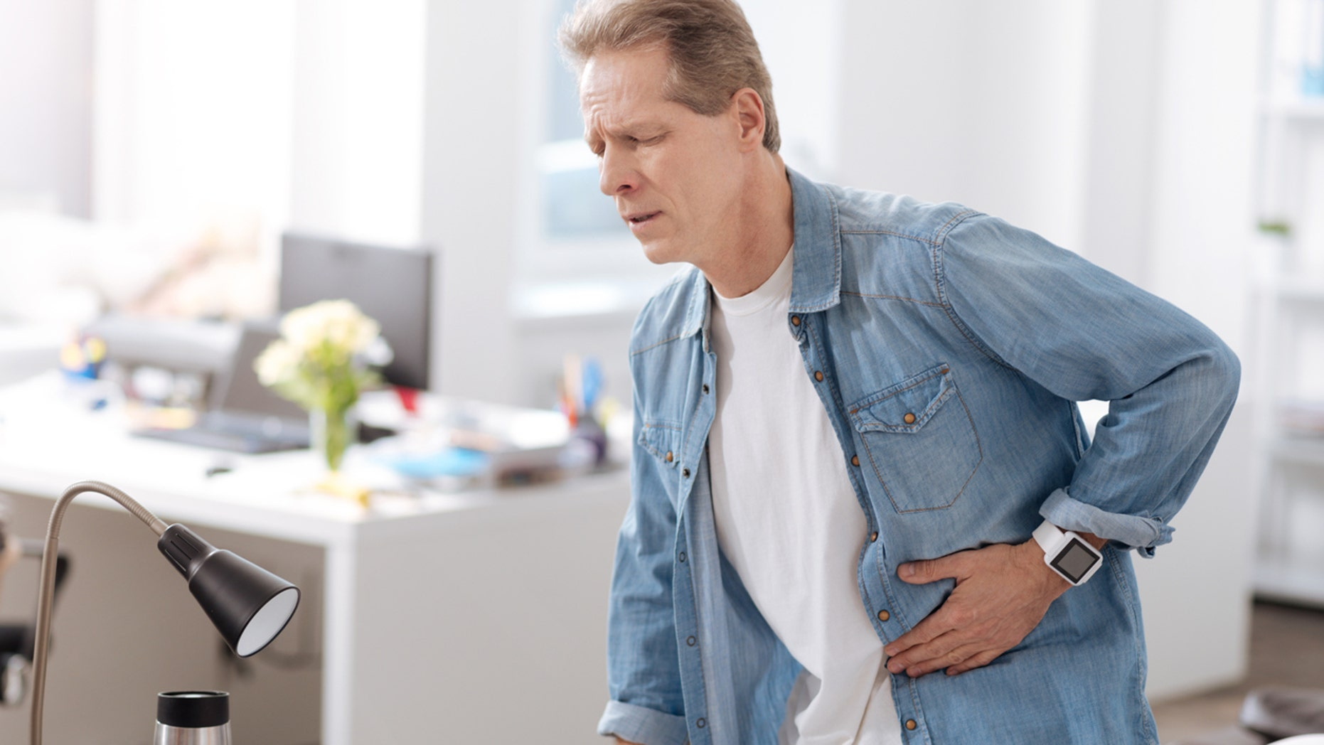 About 5 percent of the population eventually ends up with appendicitis.