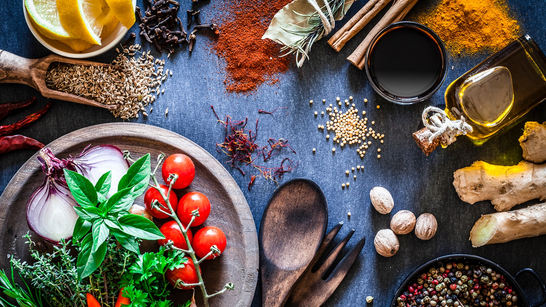 Spices might help convince high school students to load up their plate with vegetables during lunchtime in the cafeteria, a small study in rural Pennsylvania suggests.