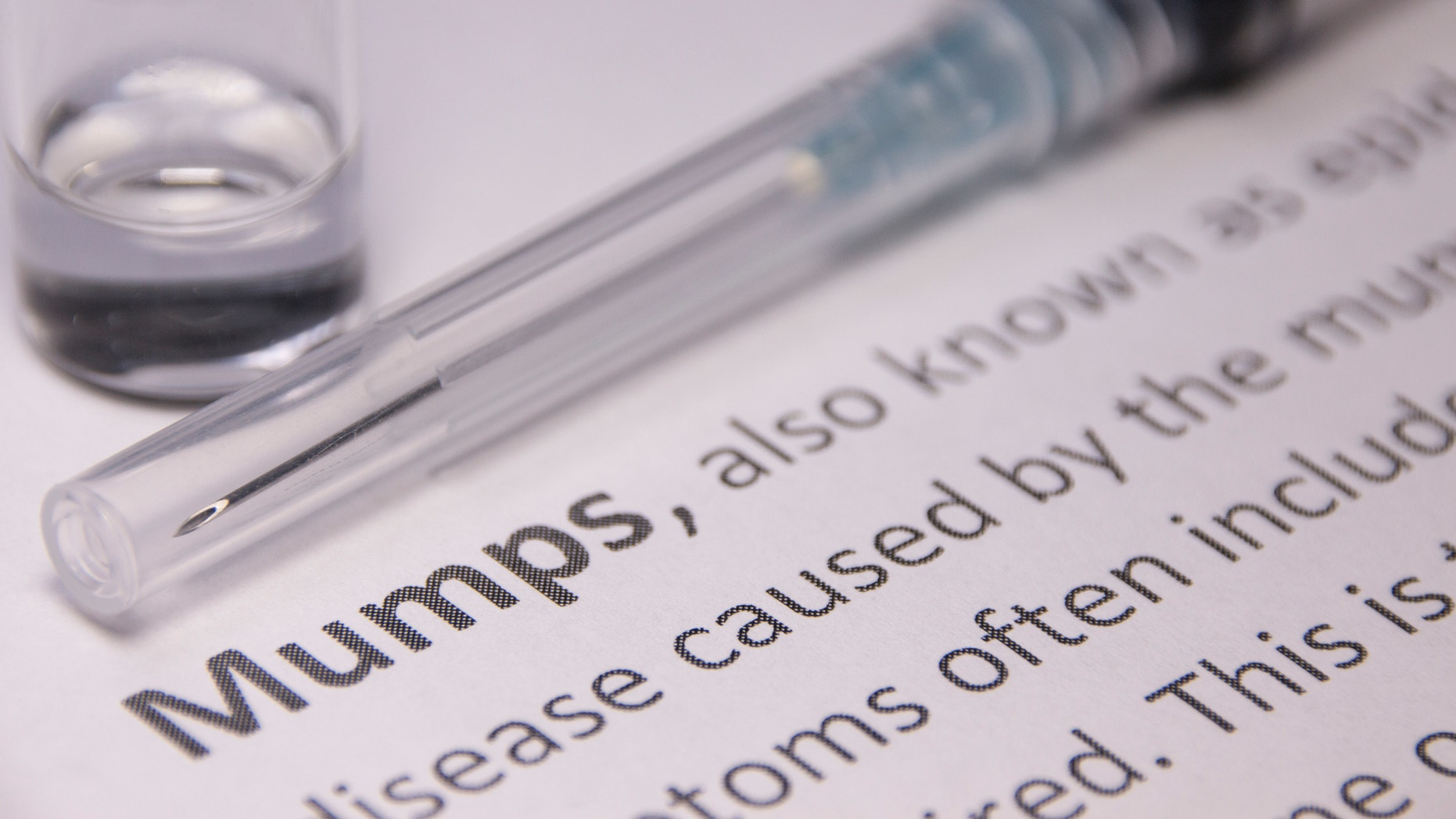 Mumps (epidemic parotitis) Vaccination