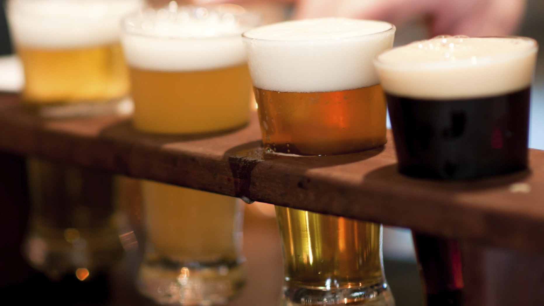 A flight of beers to accompany some musical flights of fancy.