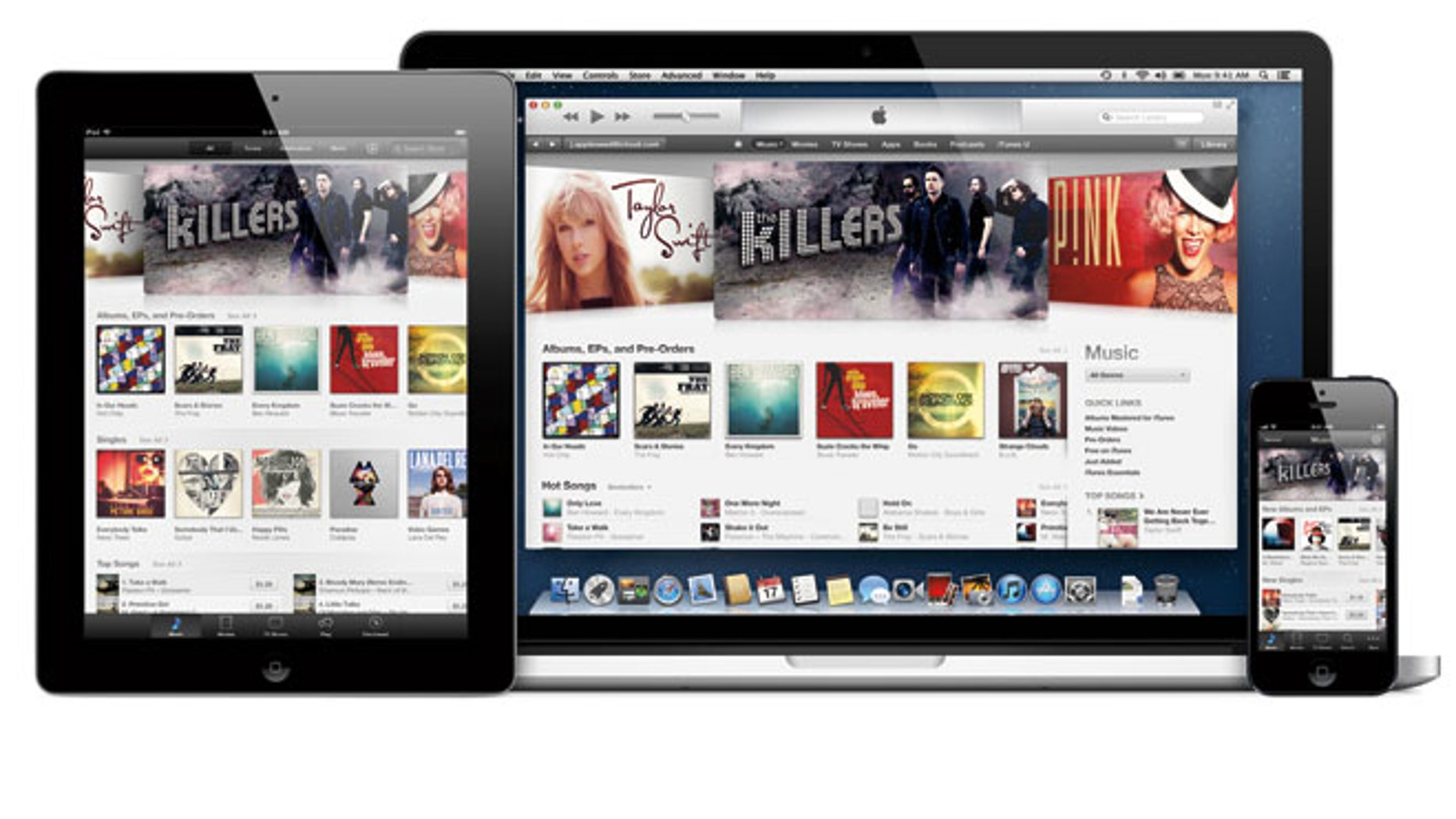 Apple iTunes usually carries movies and music. Russian users found a very different kind of content recently.