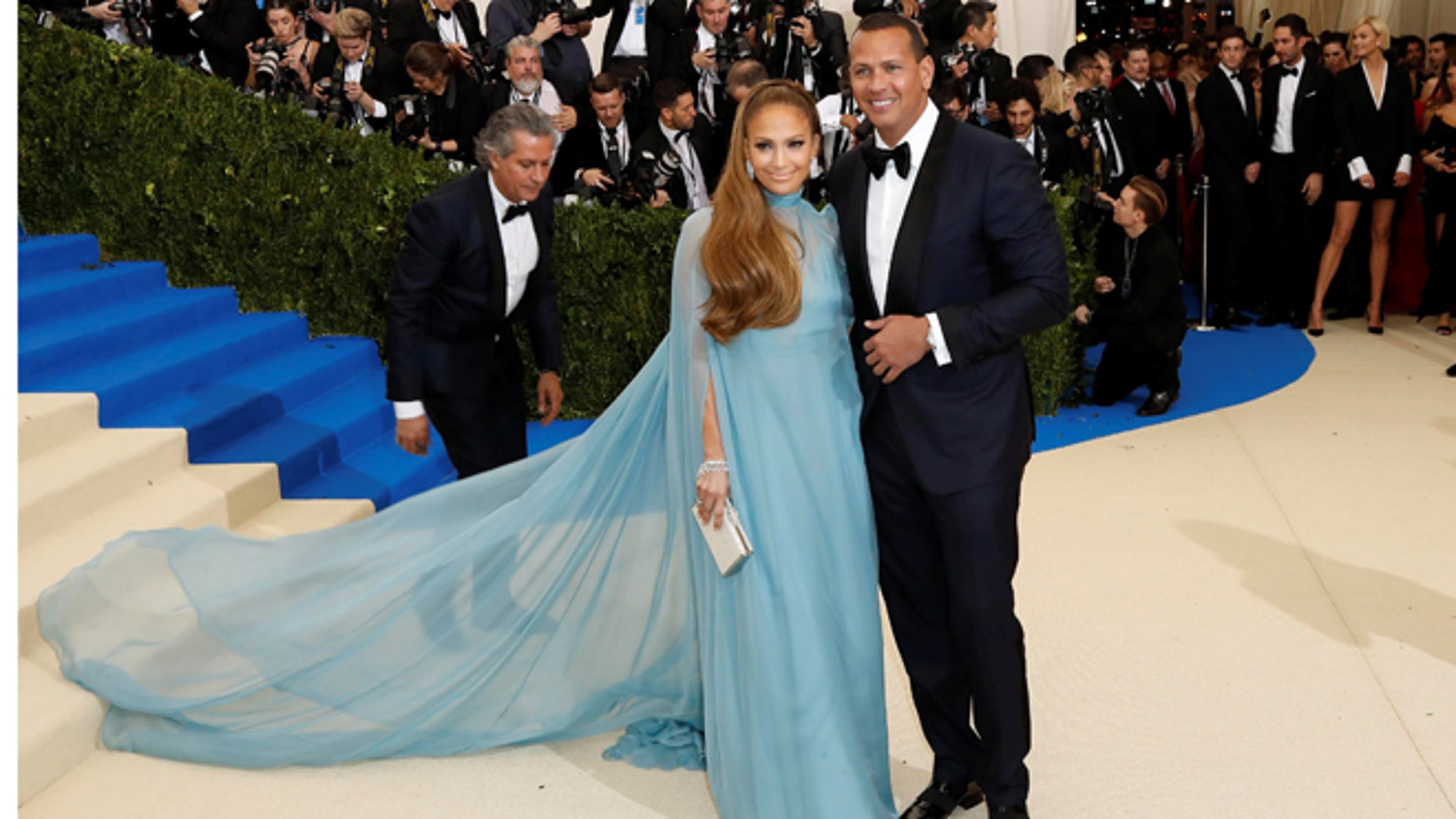 Jennifer Lopez was coy when discussing her romance with Alex Rodriguez