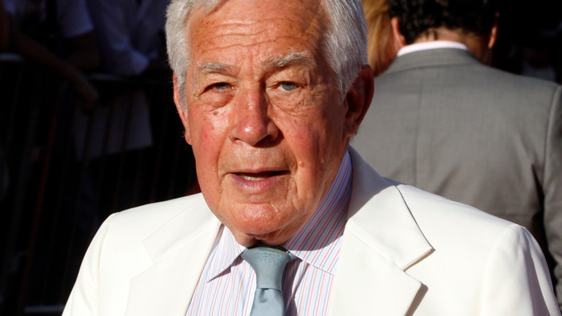 """Actor Jack Larson, who portrayed """"Jimmy Olson"""" on the Superman TV series, arrives at the opening night gala of the 2011 TCM Classic Film Festival featuring a screening of a restoration of """"An American In Paris"""" in Hollywood, California April 28, 2011."""